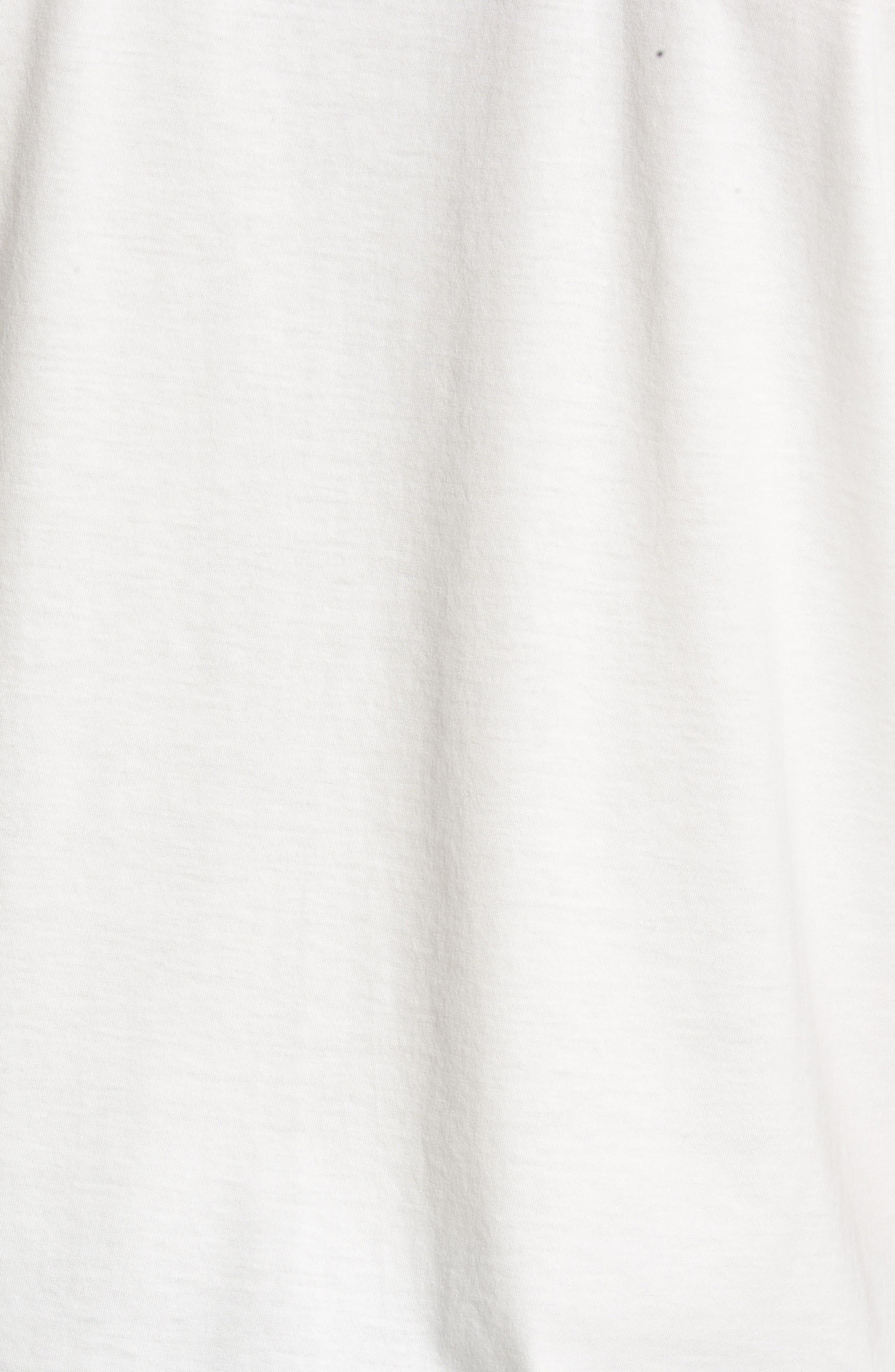 Refined T-Shirt,                             Alternate thumbnail 5, color,                             White
