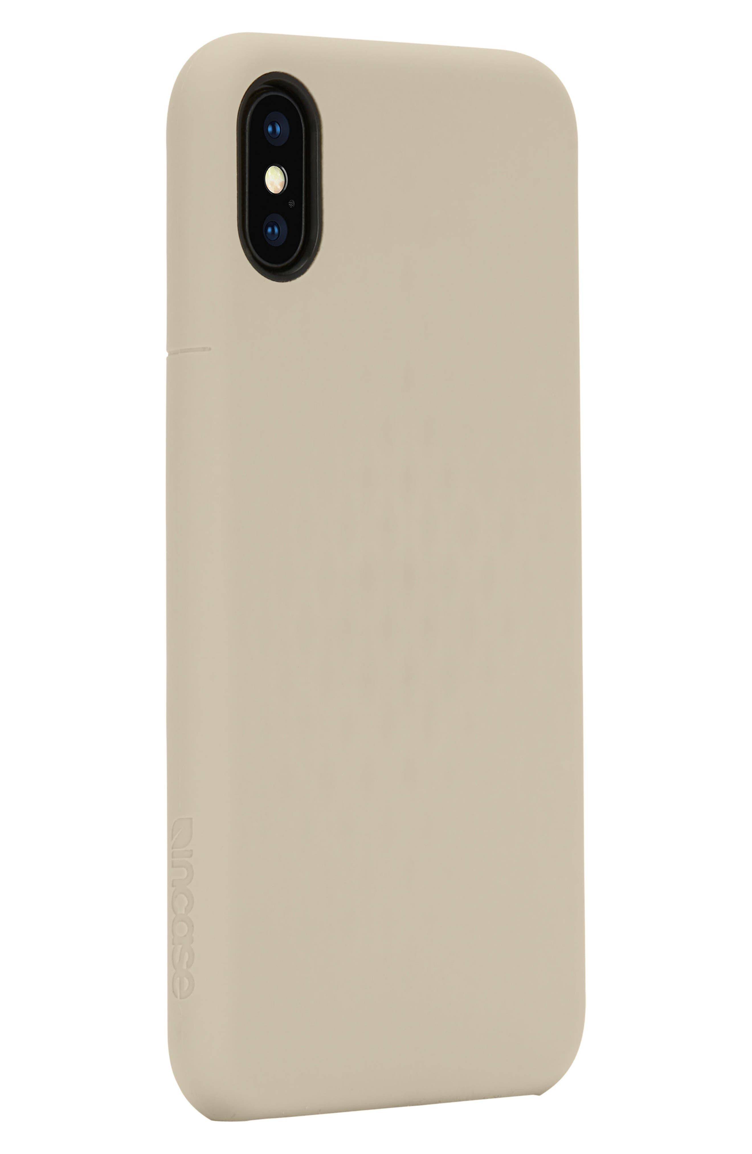 Facet iPhone X Case,                             Alternate thumbnail 2, color,                             Gold