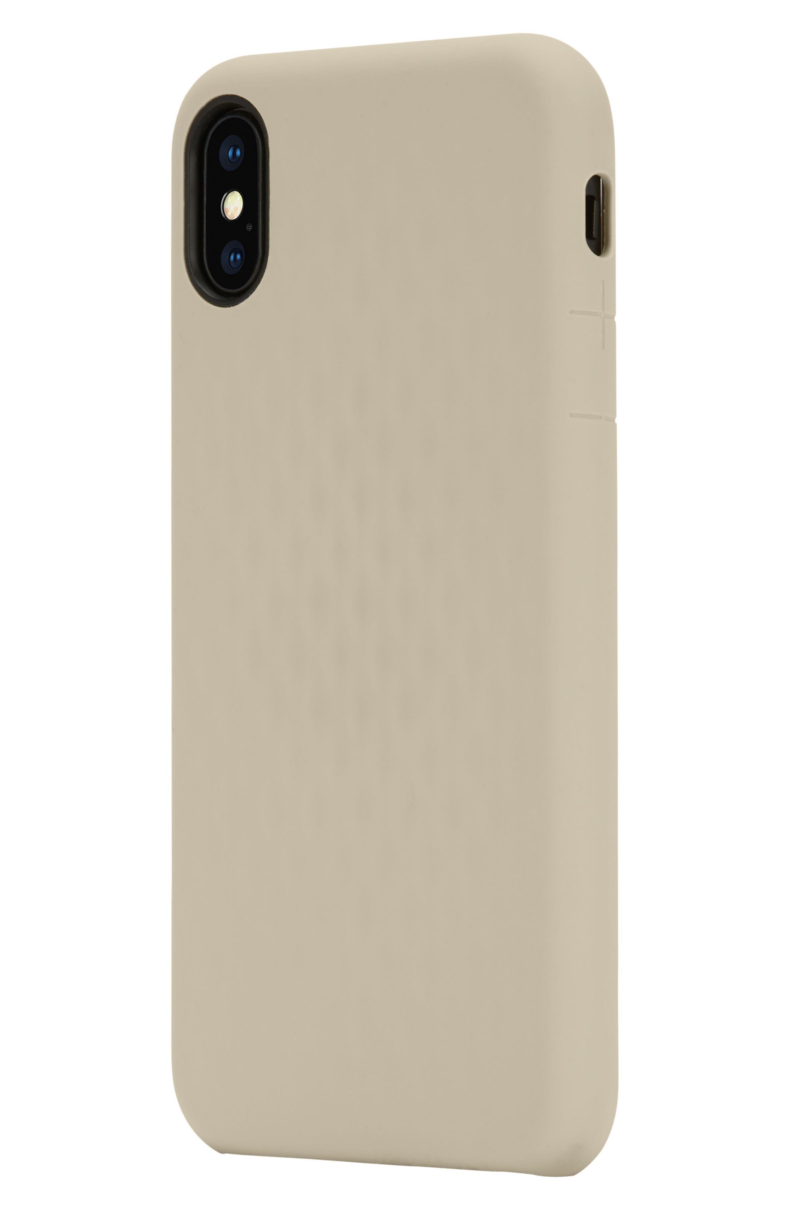 Facet iPhone X Case,                             Alternate thumbnail 3, color,                             Gold
