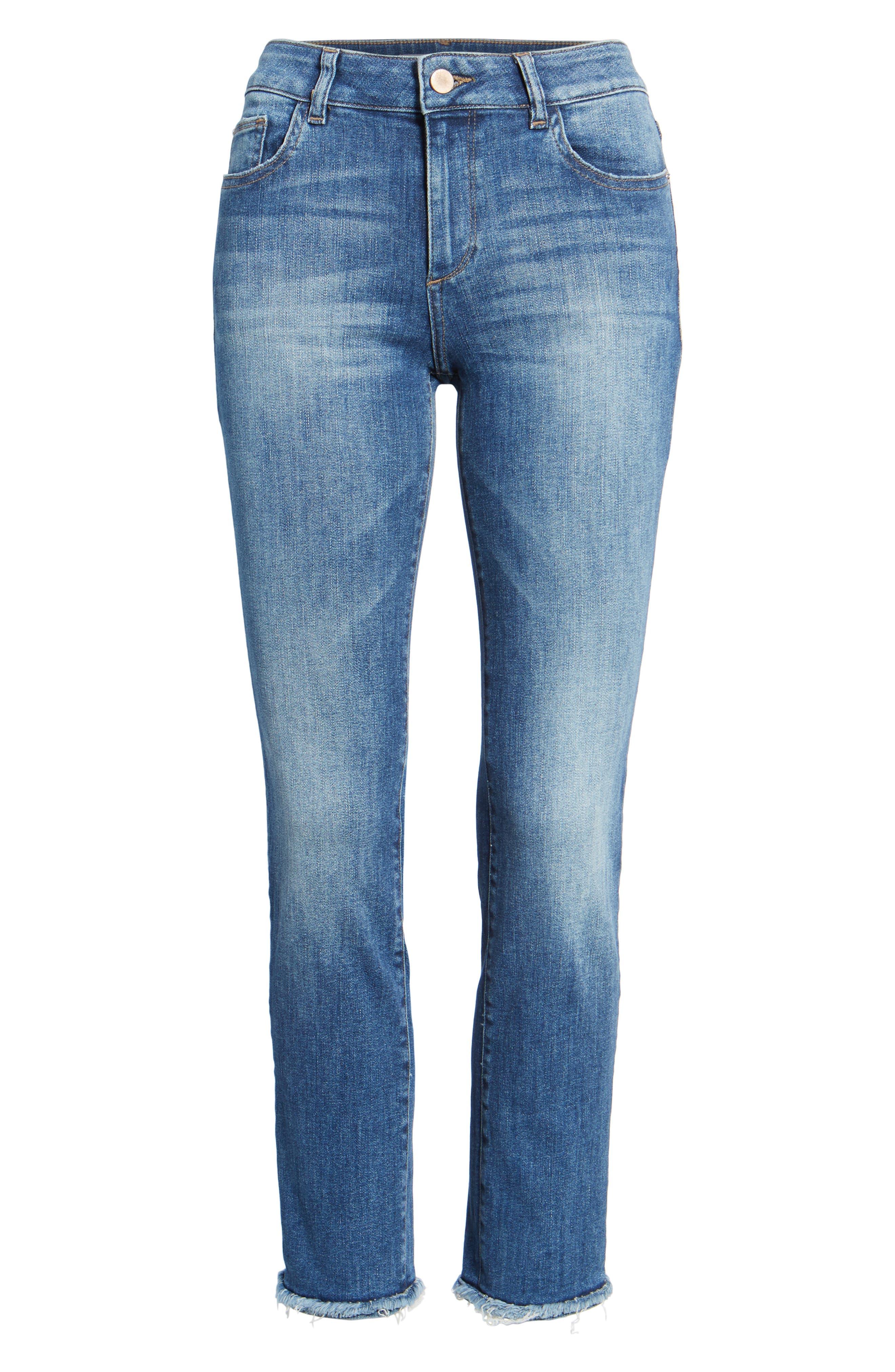 Mara Ankle Straight Leg Jeans,                             Alternate thumbnail 7, color,                             Fillmore