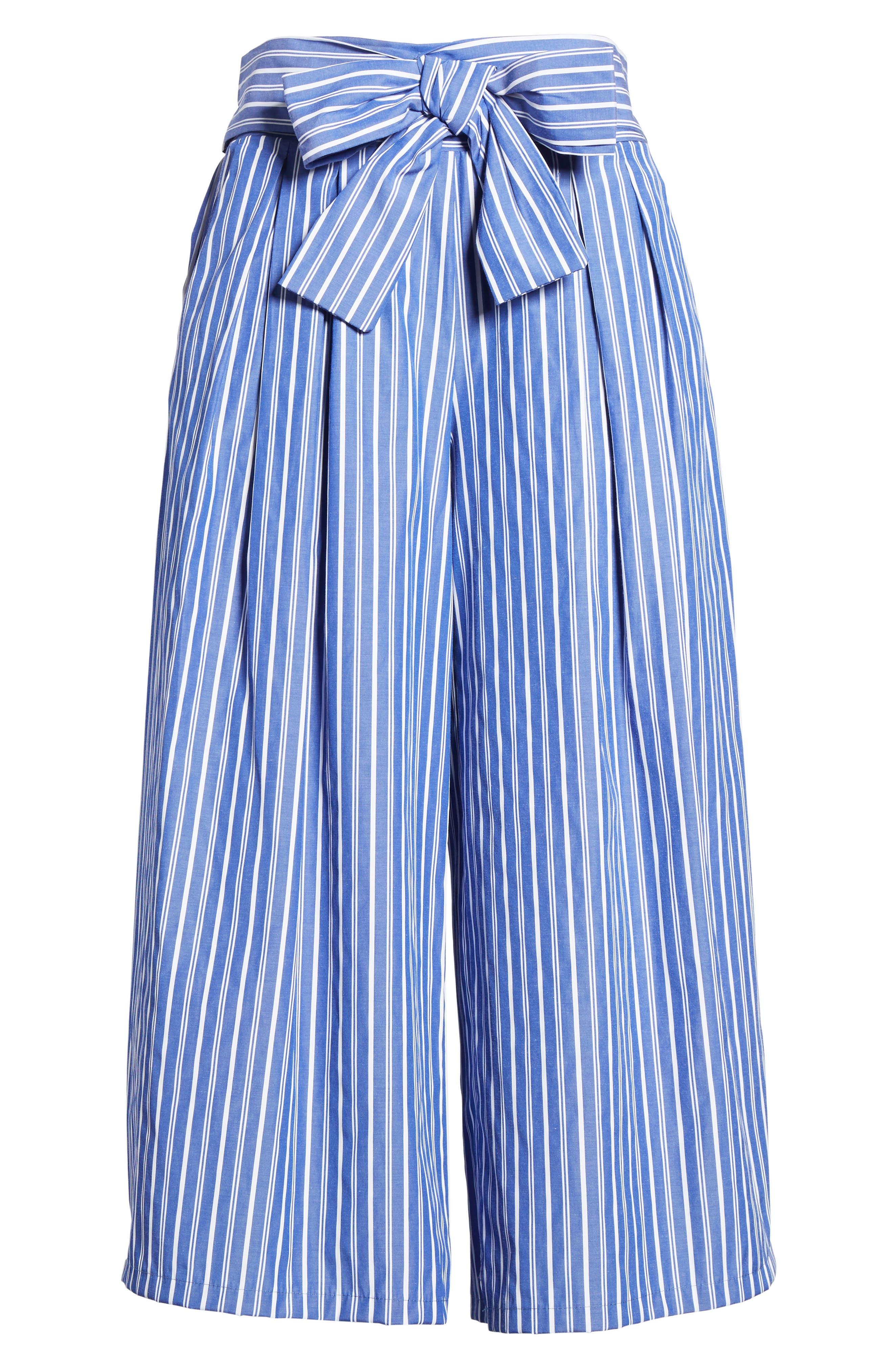 Zadeh Pants,                             Alternate thumbnail 6, color,                             Blue/ White