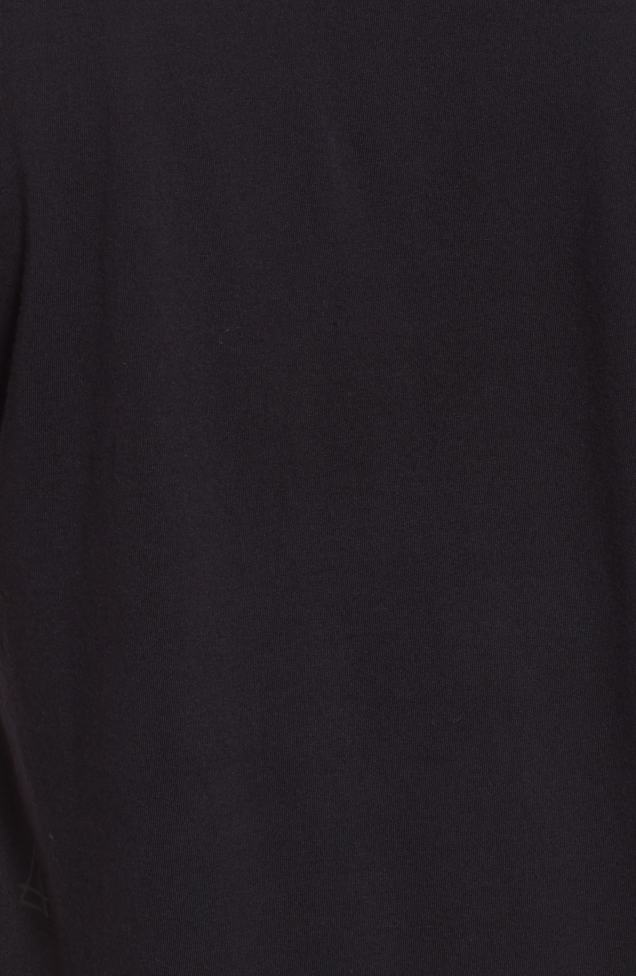 Thug for Life T-Shirt,                             Alternate thumbnail 5, color,                             Black