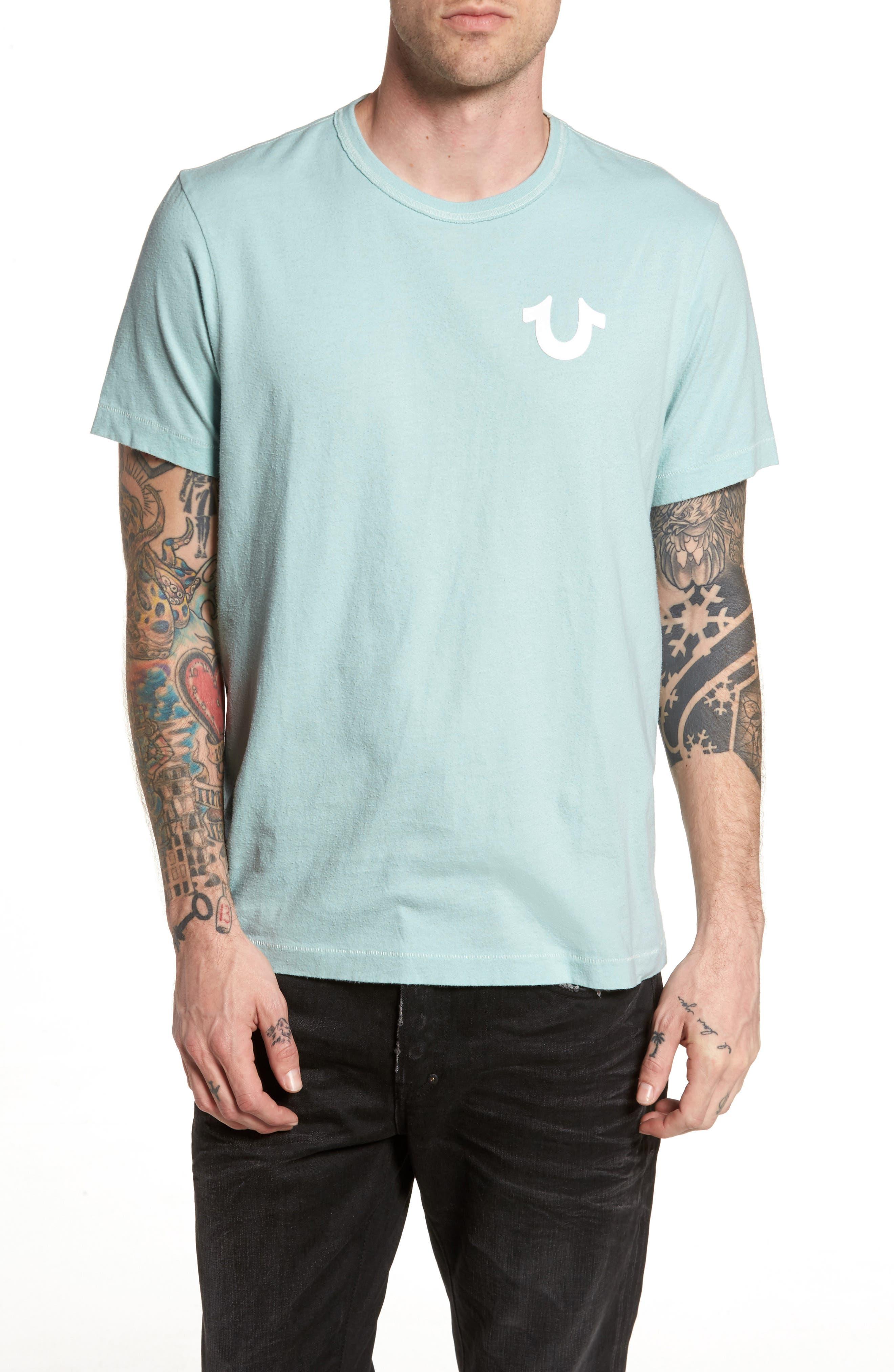 Core T-Shirt,                         Main,                         color, Pale Blue