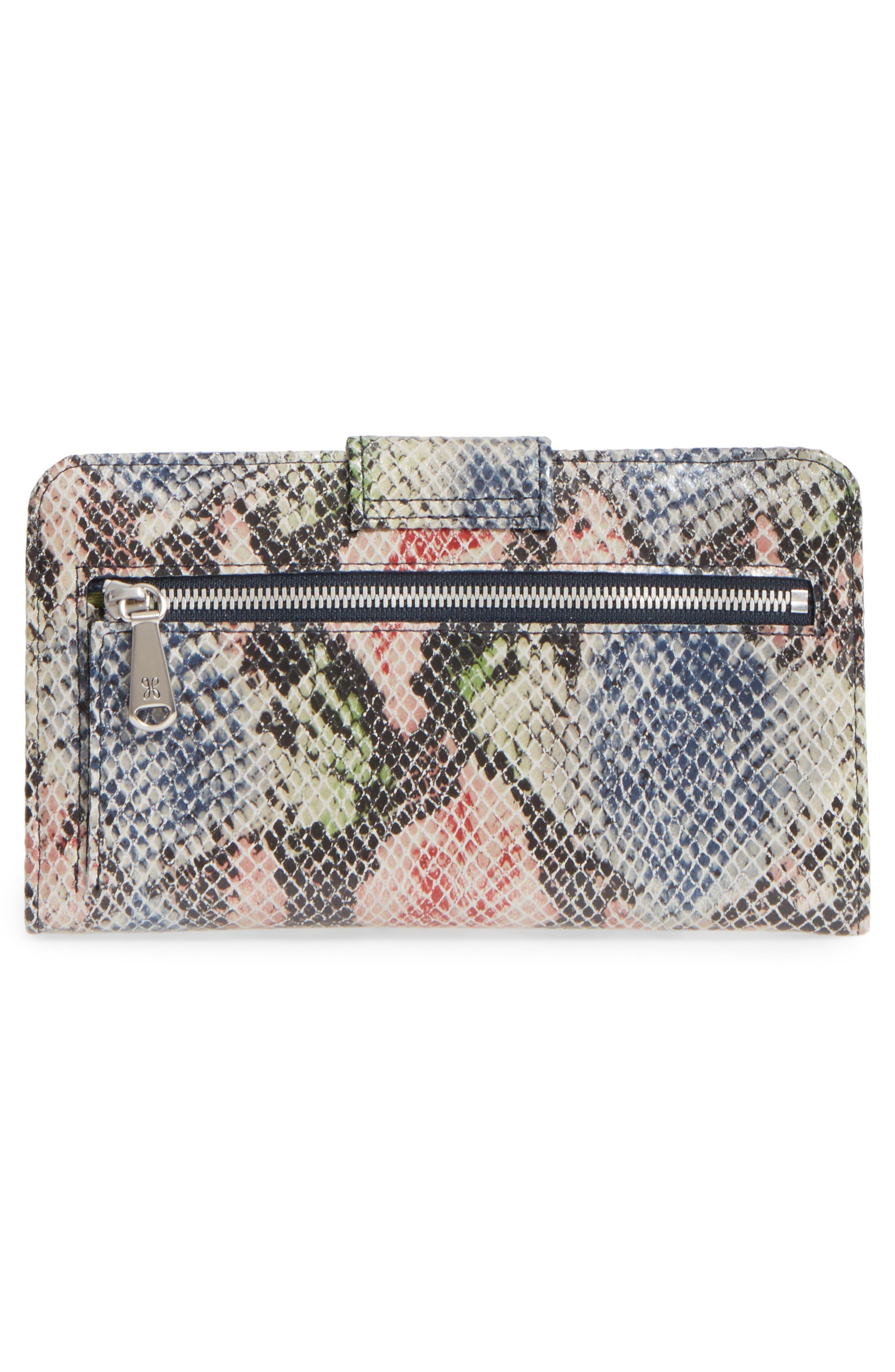 Alternate Image 4  - Hobo 'Danette' Glazed Leather Continental Wallet