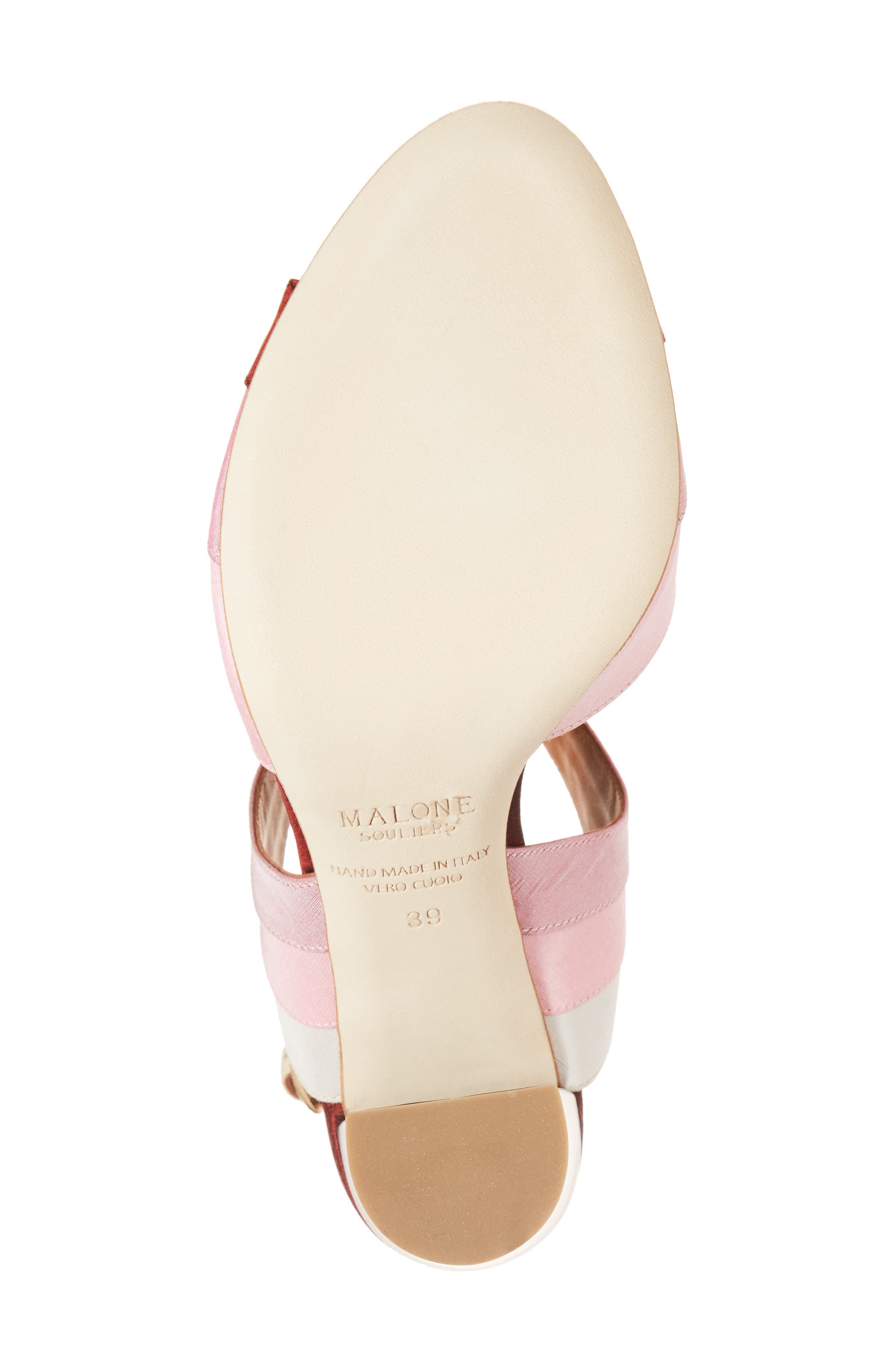 Anita Ombré Slingback Sandal,                             Alternate thumbnail 6, color,                             Peach/ Rose/ Berry/ Wine