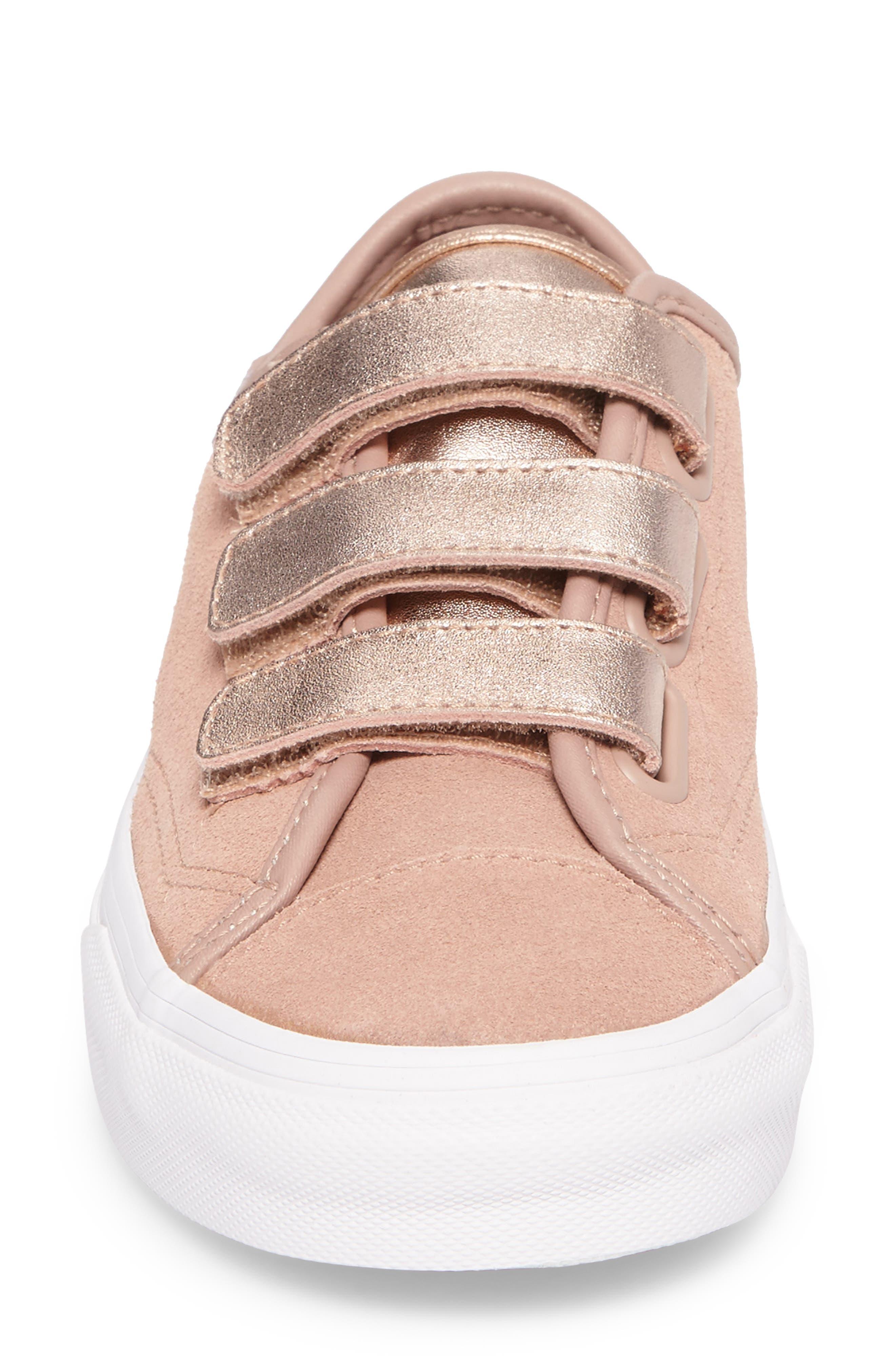 Style 23 V Sneaker,                             Alternate thumbnail 5, color,                             Mahogany Rose/ True White