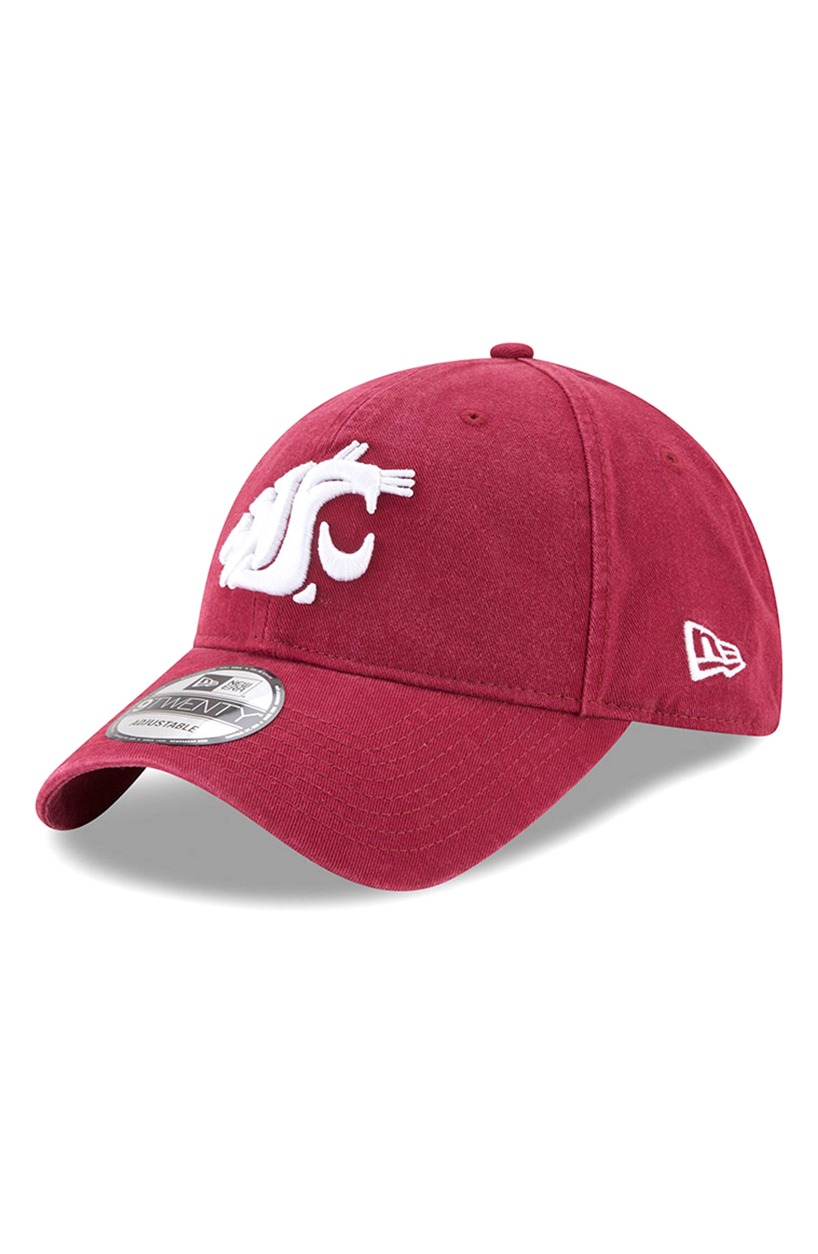 Main Image - New Era Collegiate Core Classic - Washington State Cougars Baseball Cap