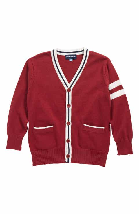 Boys' Red Sweaters: Cardigans, Cashmere & Knit | Nordstrom