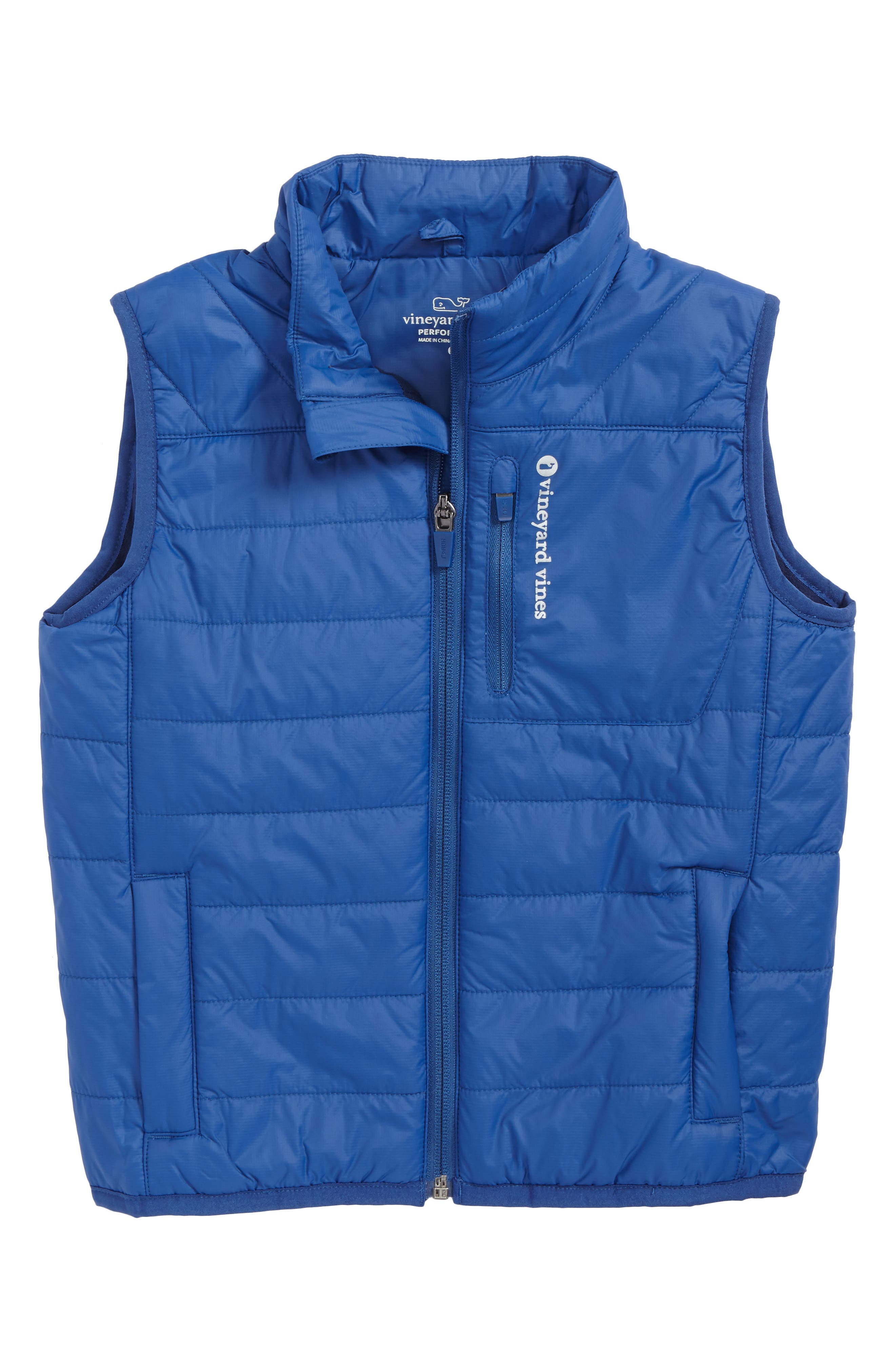vineyard vines New Mountain Weekend Quilted Vest (Toddler Boys & Little Boys)