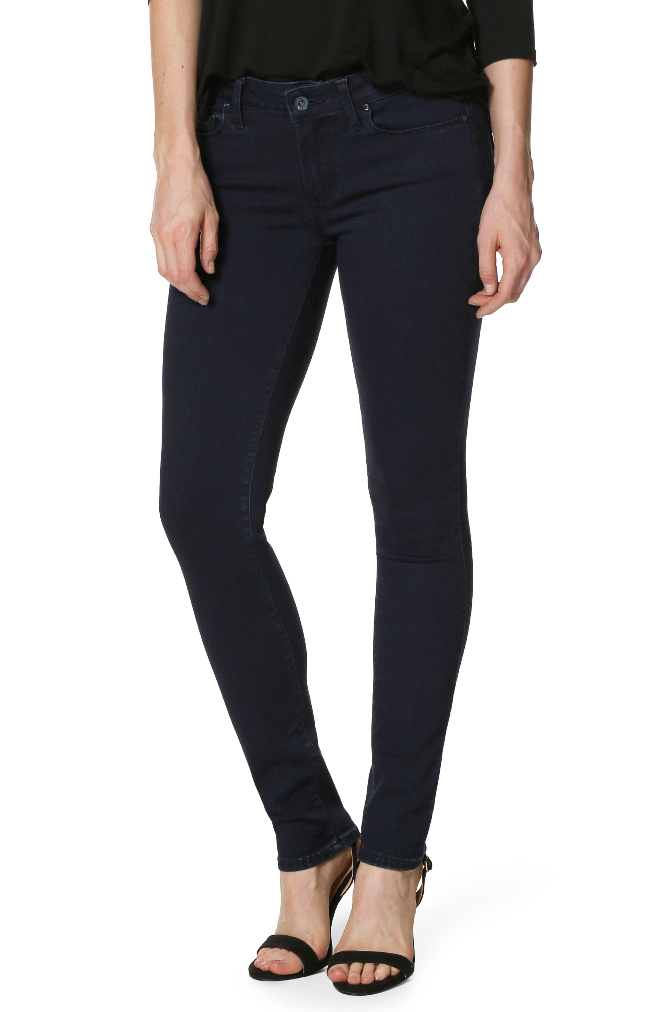 Main Image - PAIGE Transcend - Verdugo Ultra Skinny Jeans (Alley)