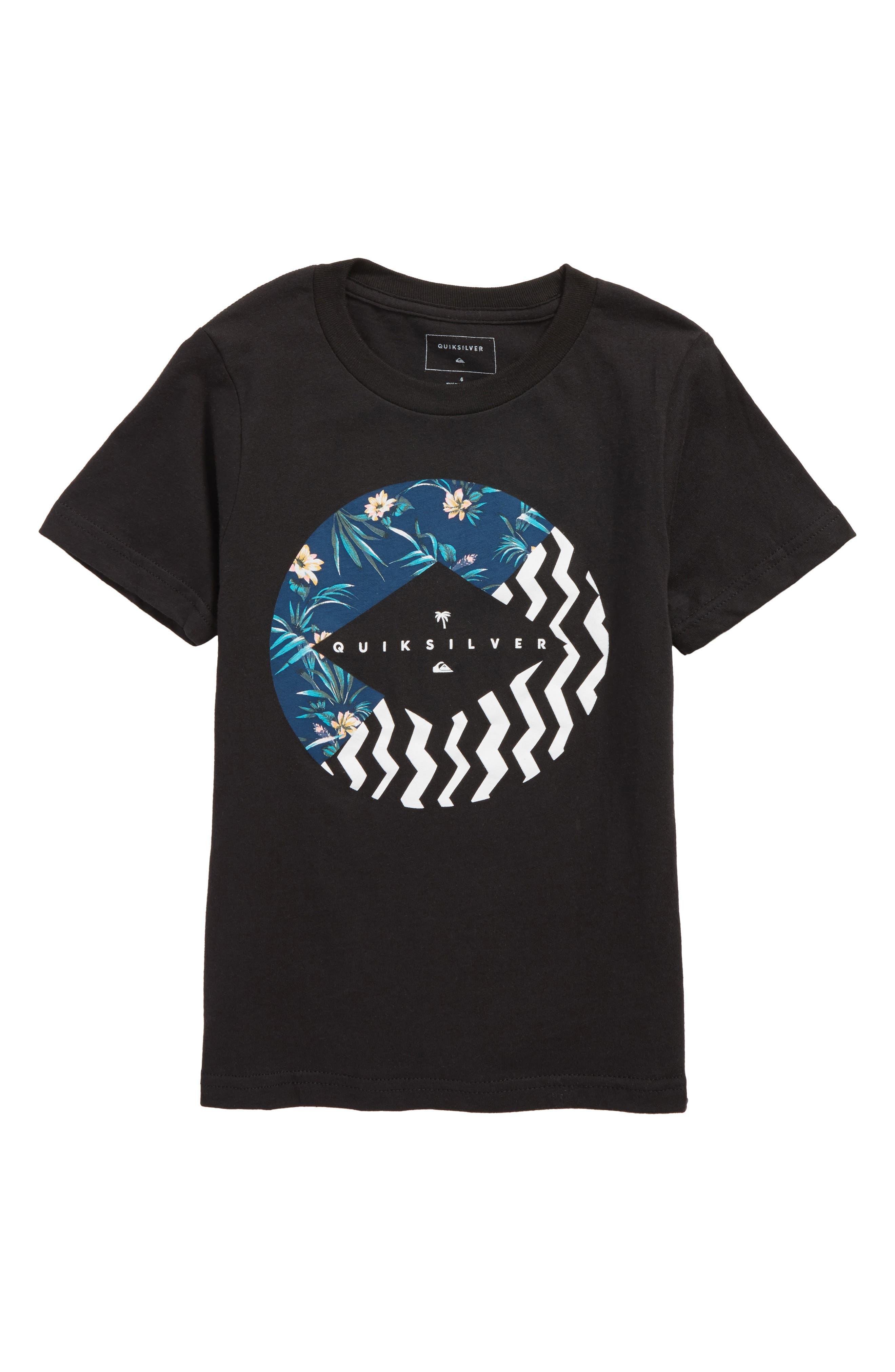 Quiksilver Vert Times Graphic T-Shirt (Toddler Boys & Little Boys)