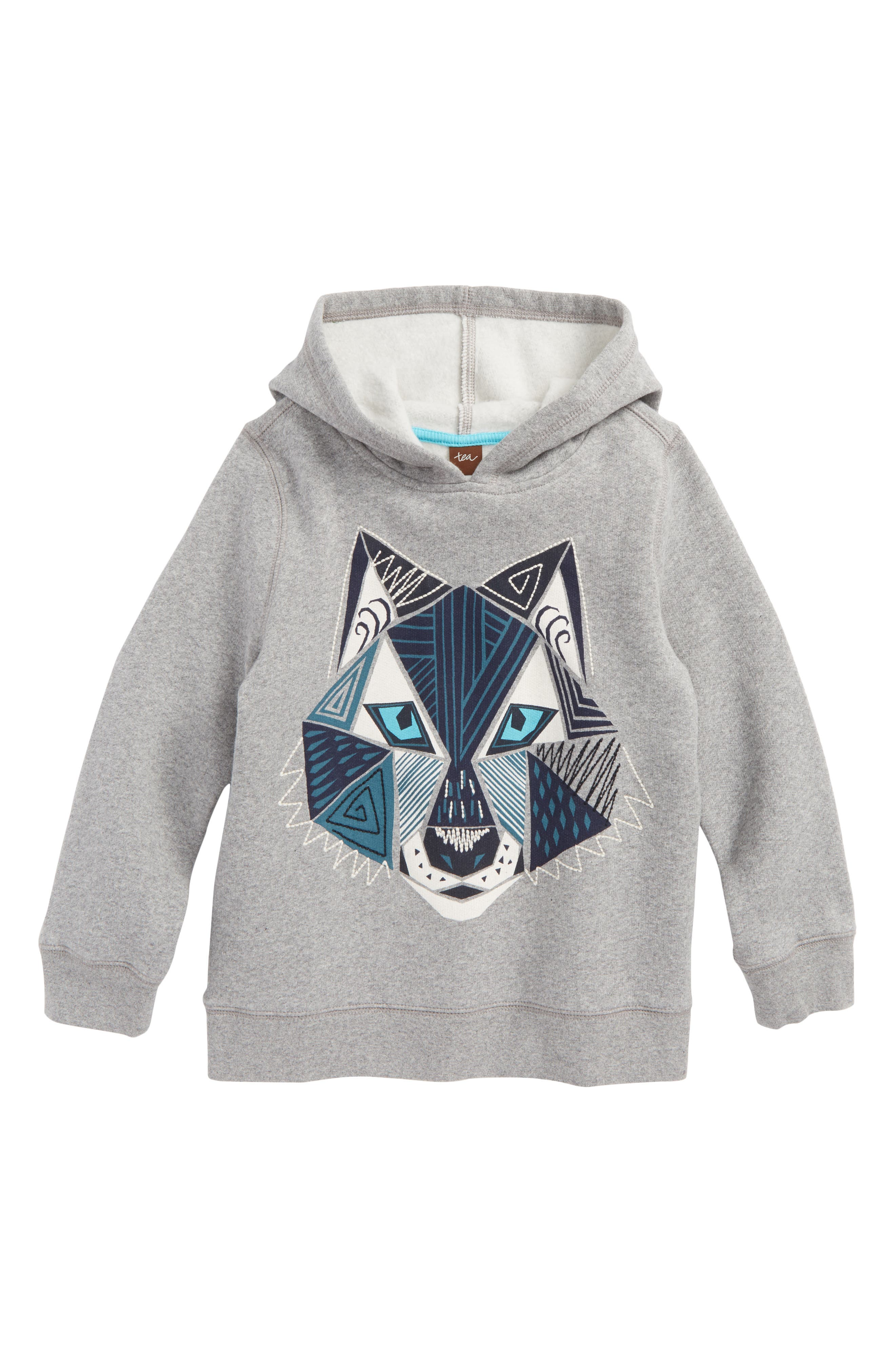 Tea Collection Howler Graphic Hoodie (Toddler Boys & Little Boys)