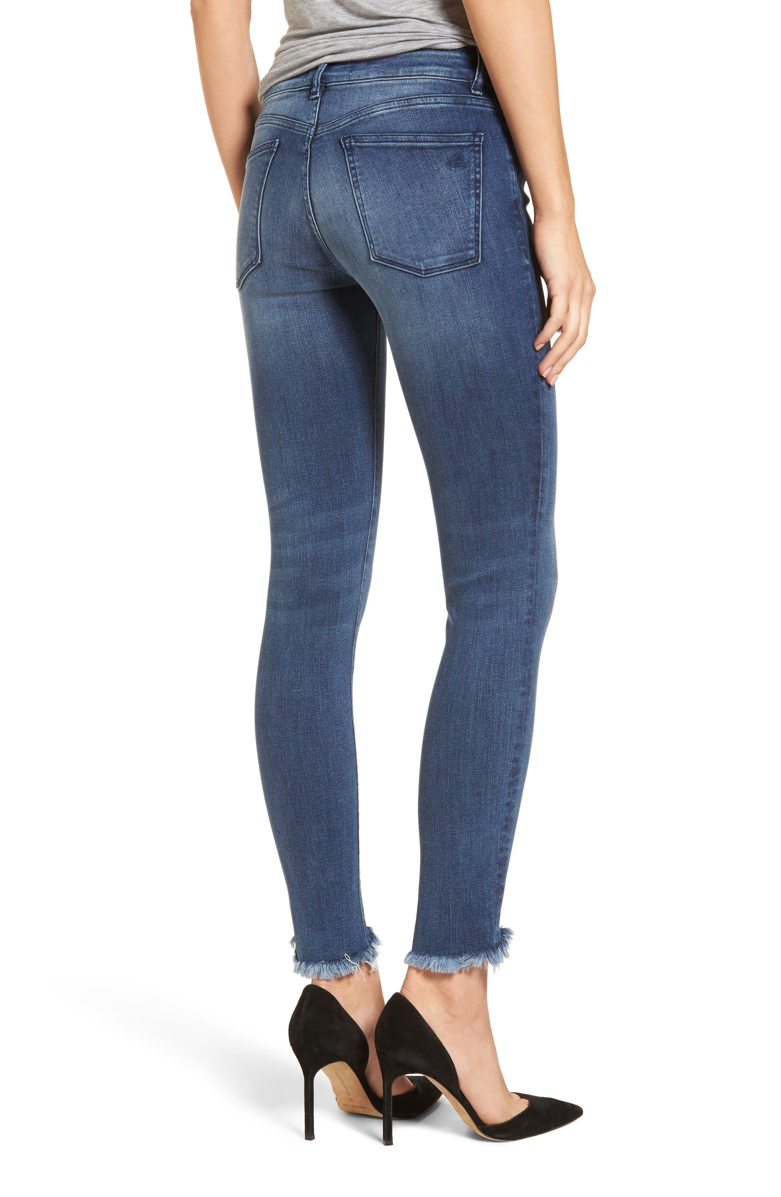 Emma Power Legging Jeans,                             Alternate thumbnail 2, color,                             Fenwick