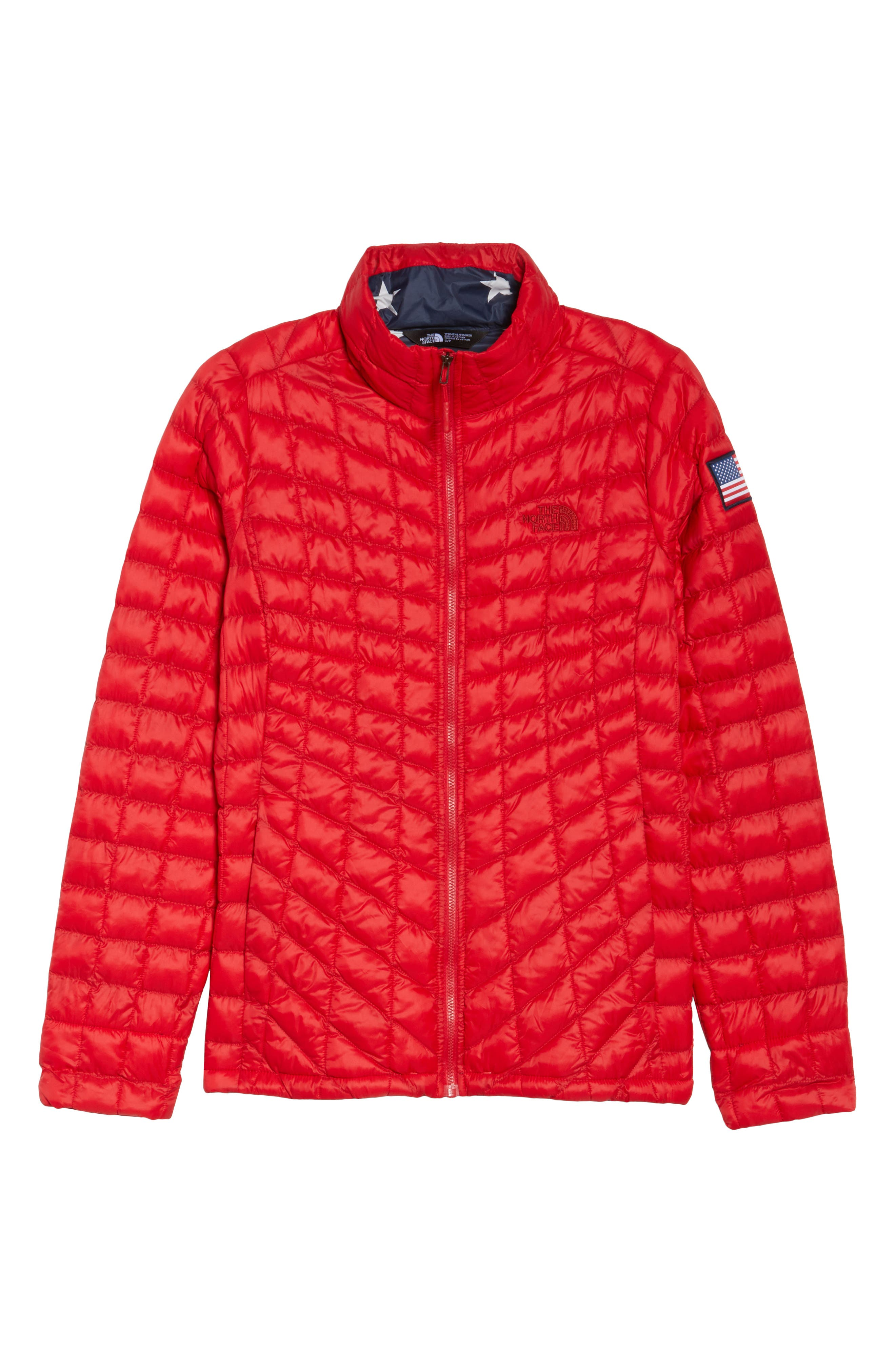 ThermoBall<sup>™</sup> PrimaLoft<sup>®</sup> Jacket,                             Alternate thumbnail 7, color,                             Tnf Red
