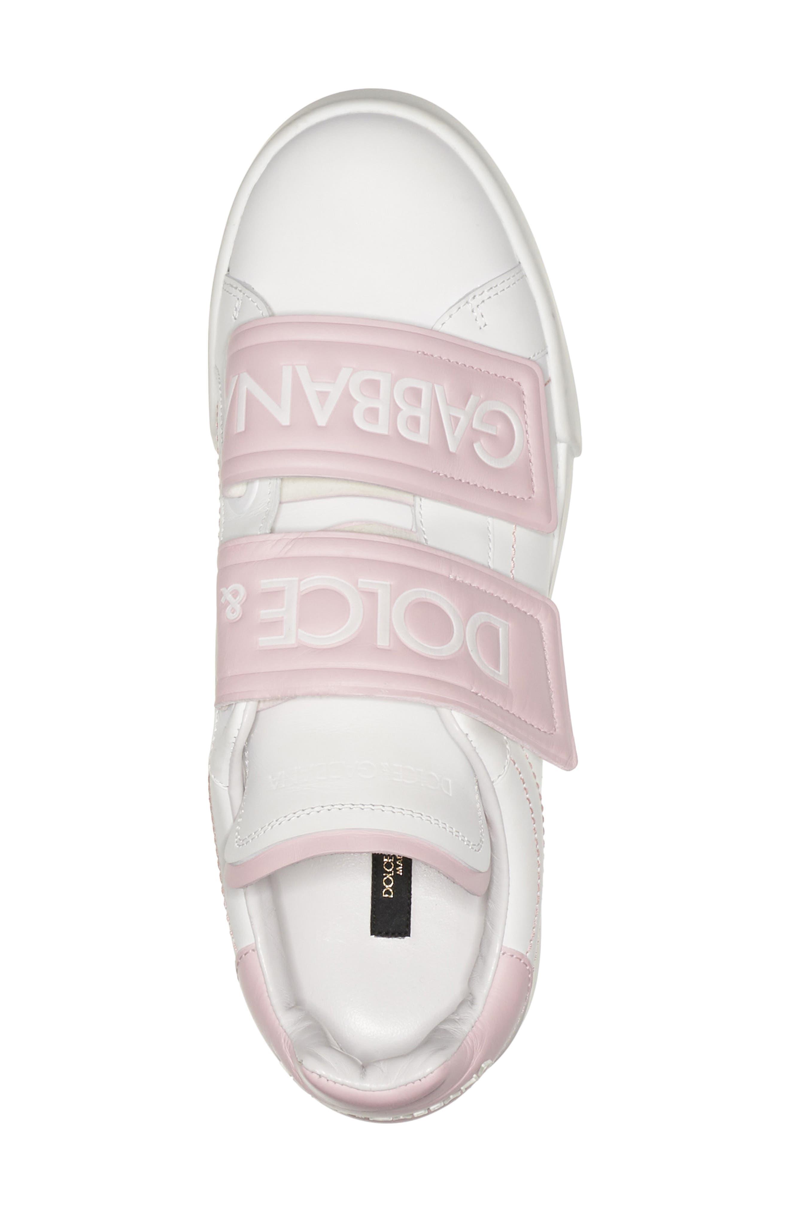 Alternate Image 4  - Dolce&Gabbana Logo Strap Sneaker (Women)