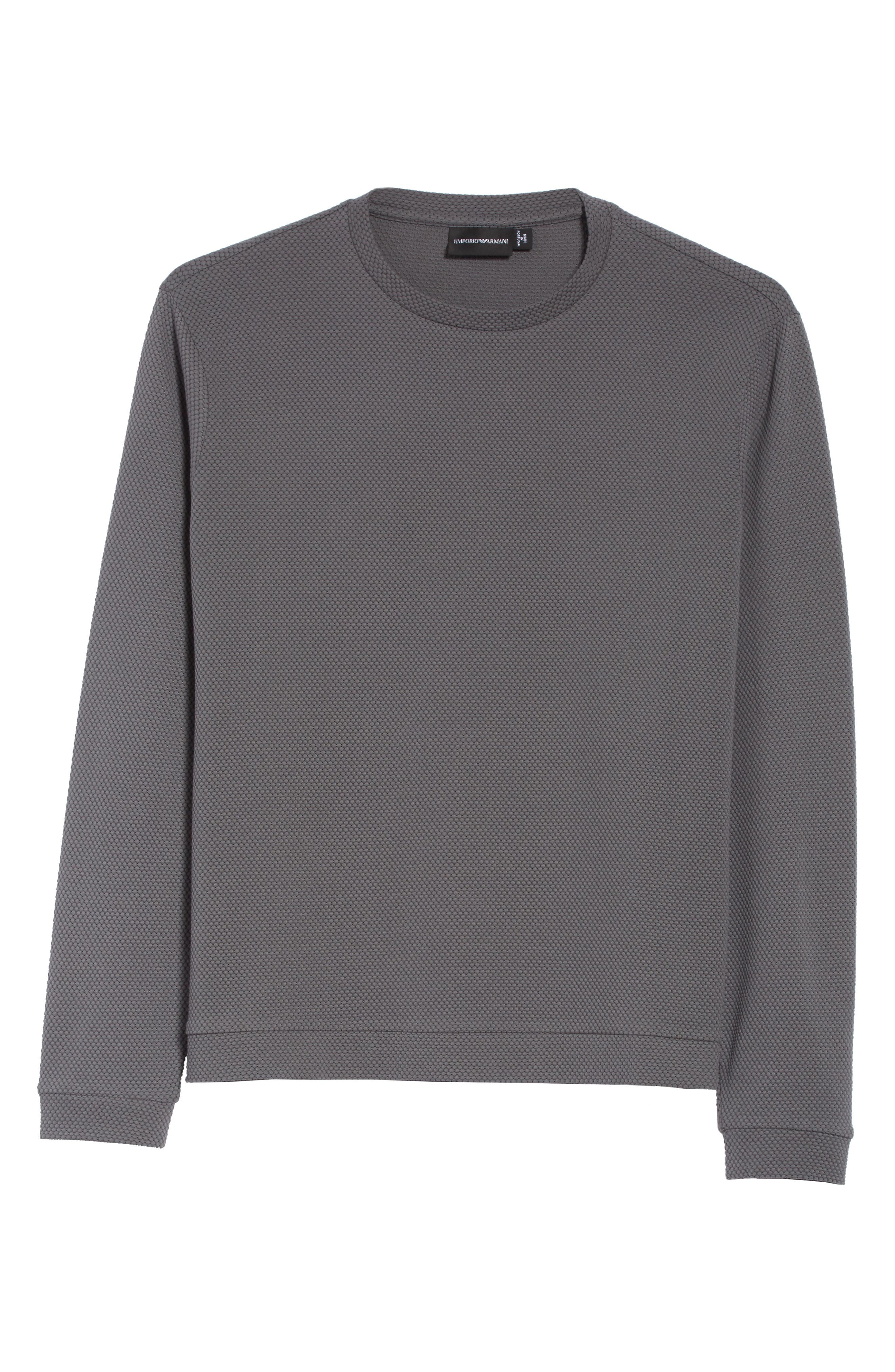Alternate Image 6  - Emporio Armani Honeycomb Jacquard Slim Fit T-Shirt