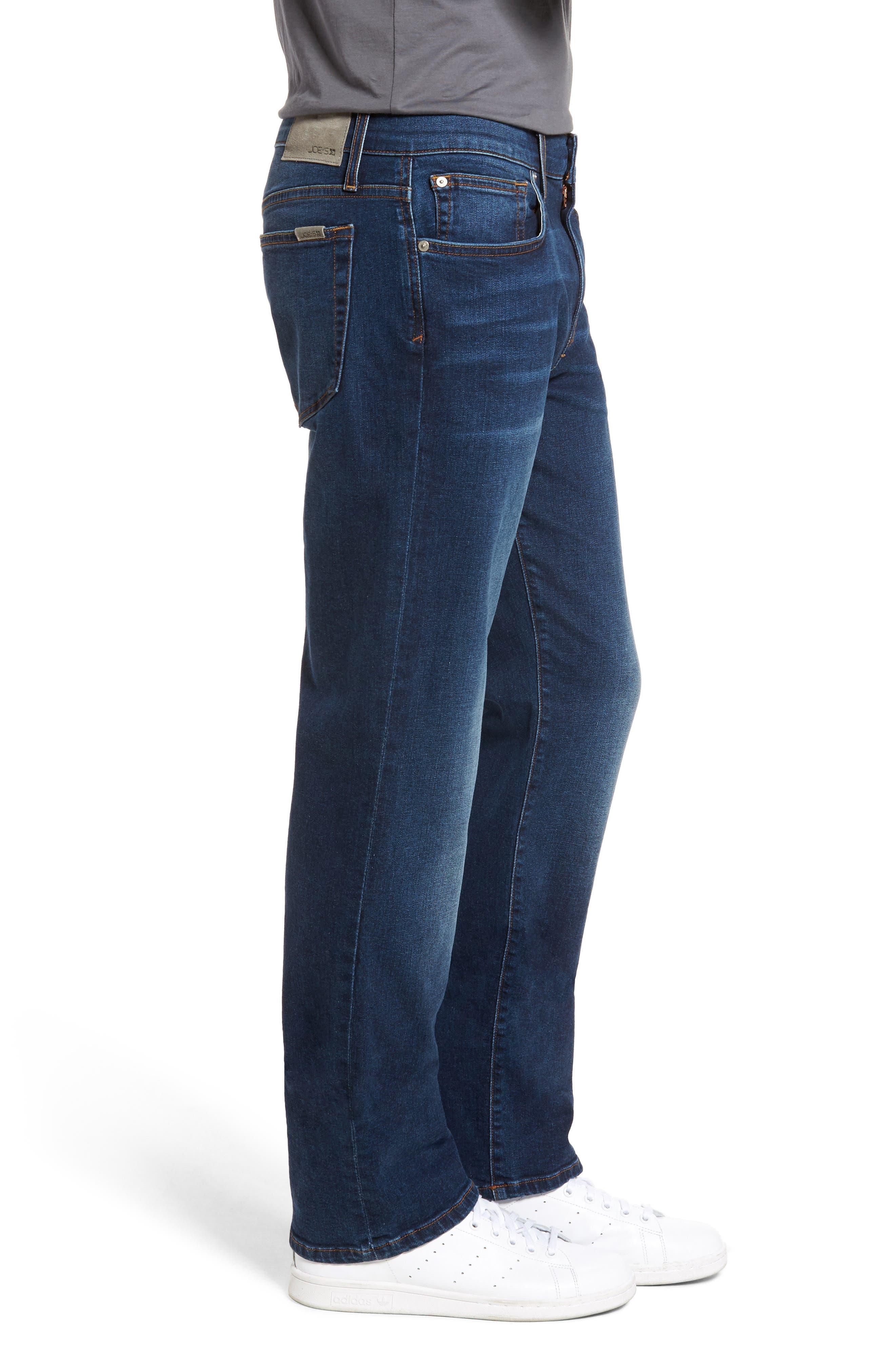 Brixton Slim Straight Leg Jeans,                             Alternate thumbnail 3, color,                             Line