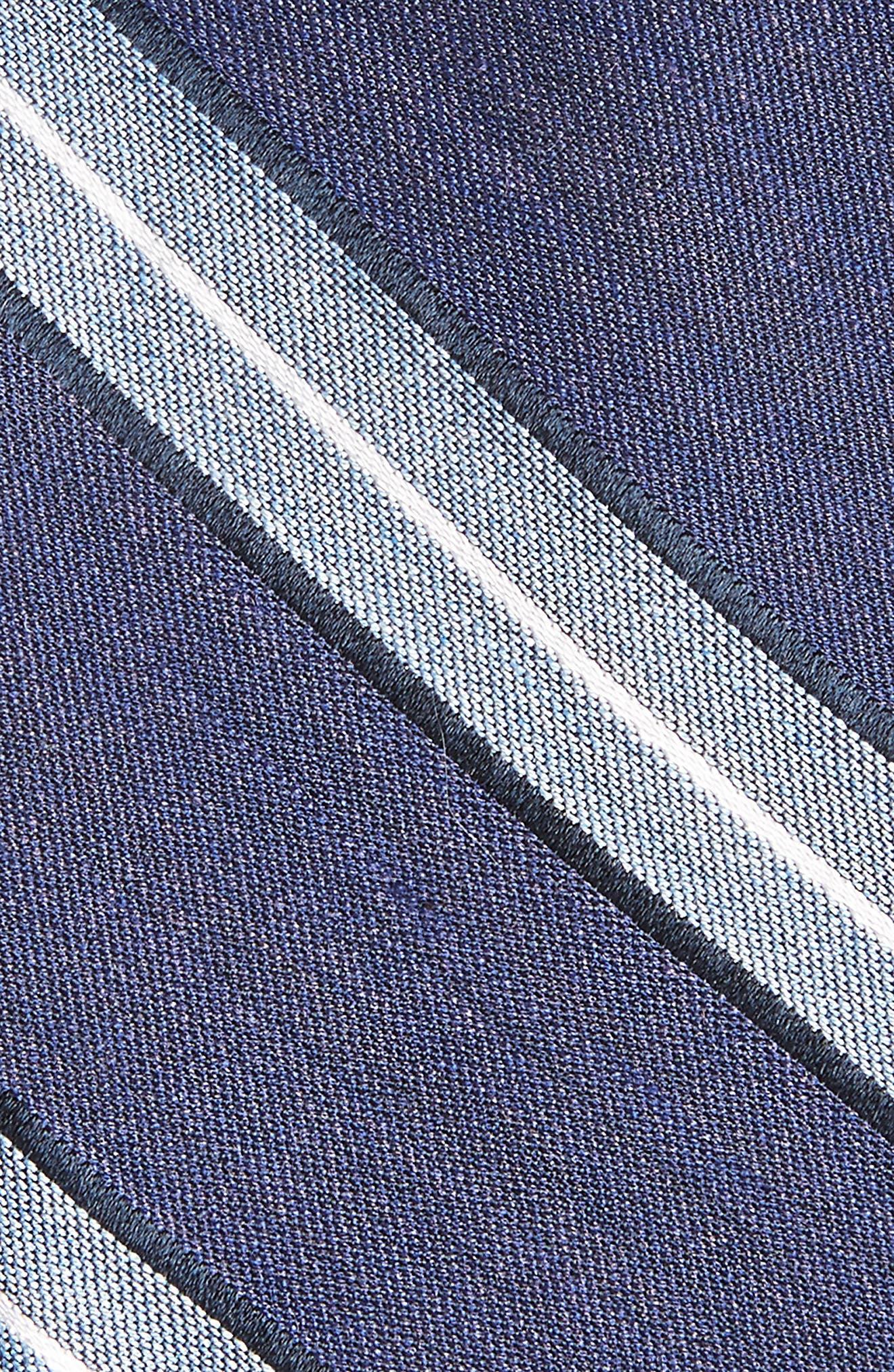 Alternate Image 2  - Nordstrom Men's Shop Peralba Stripe Silk Blend Tie