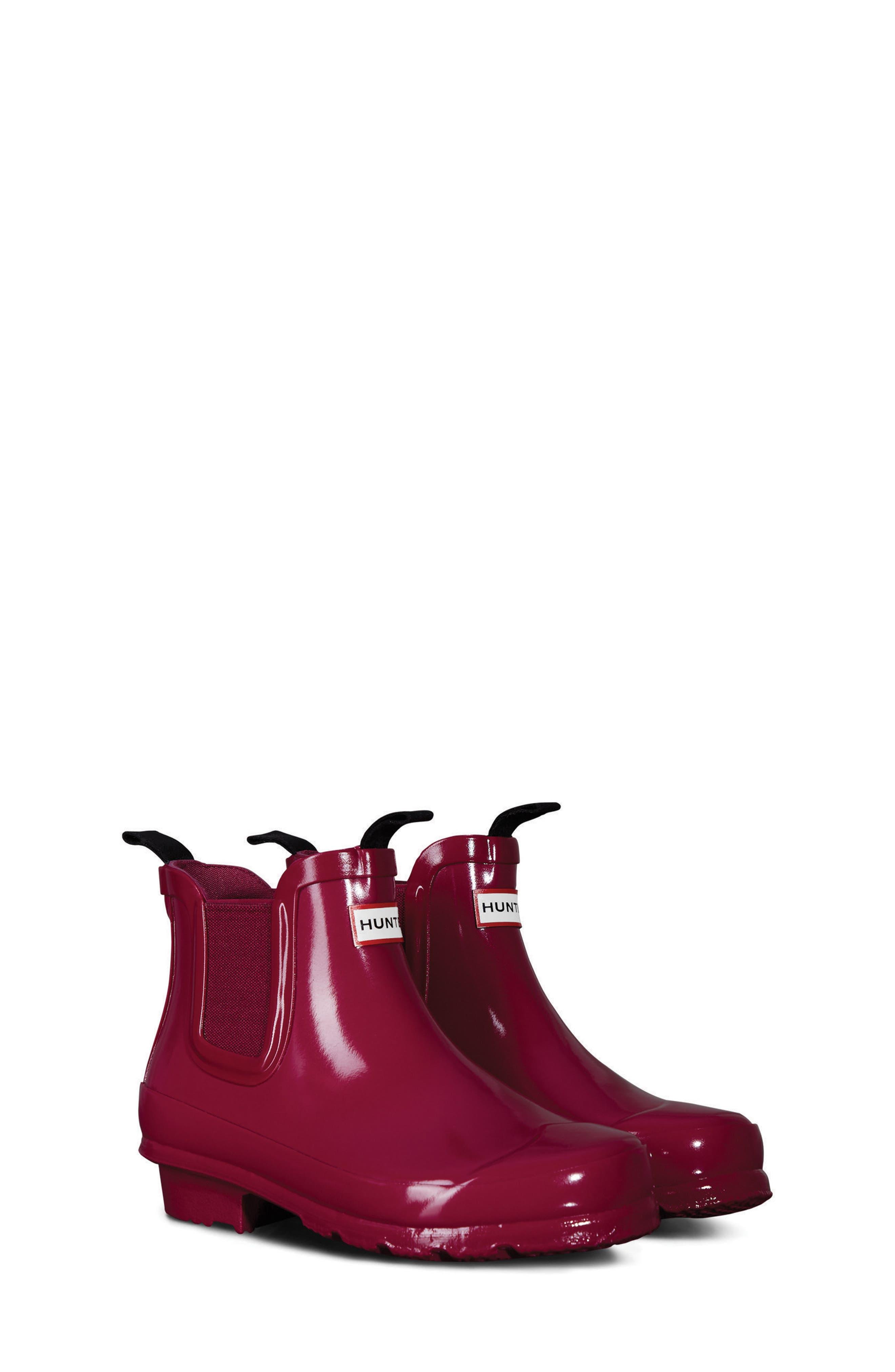Hunter 'Original' Chelsea Rain Boot (Toddler)