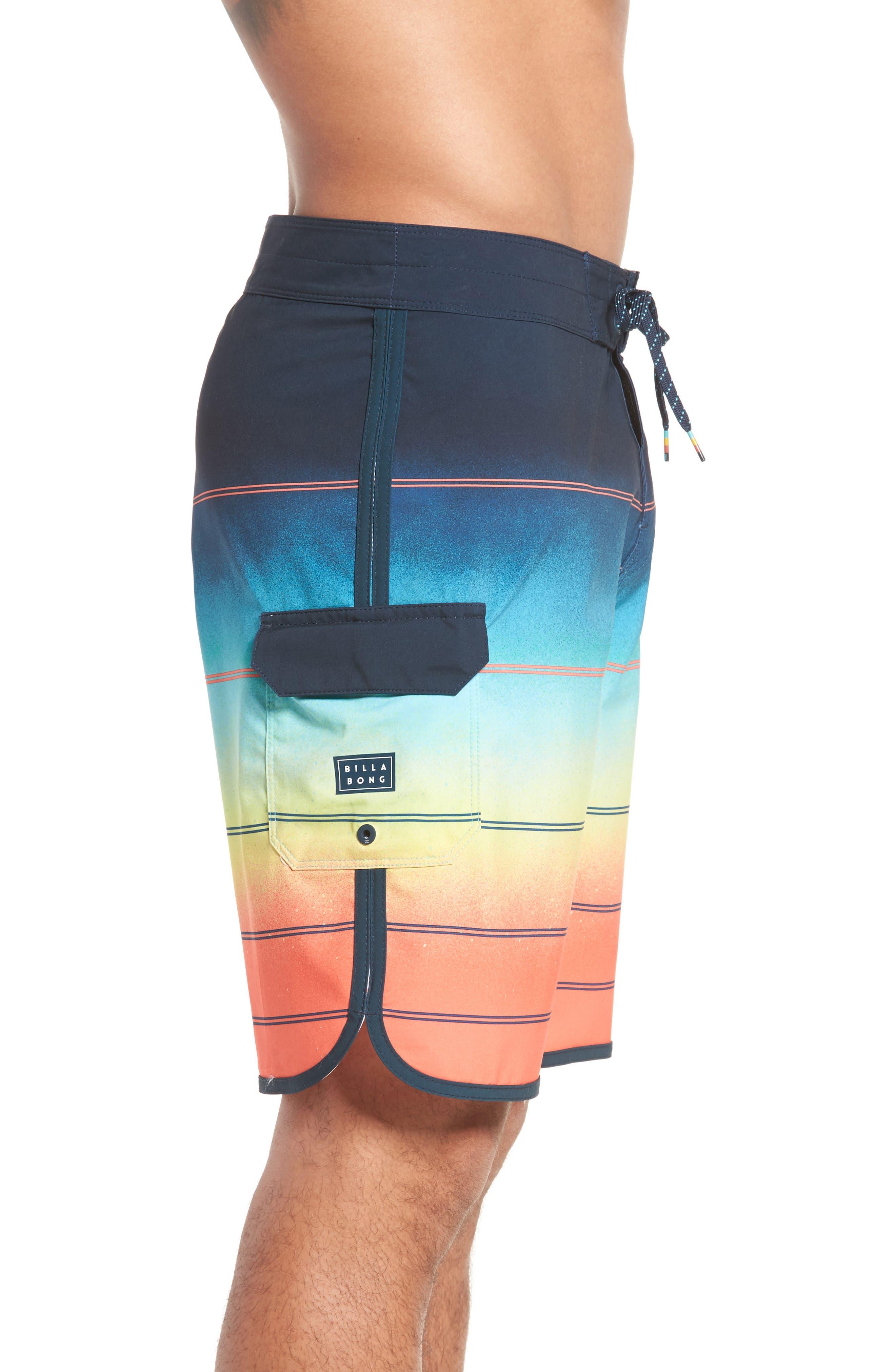 Alternate Image 3  - Billabong 73 X Stripe Board Shorts