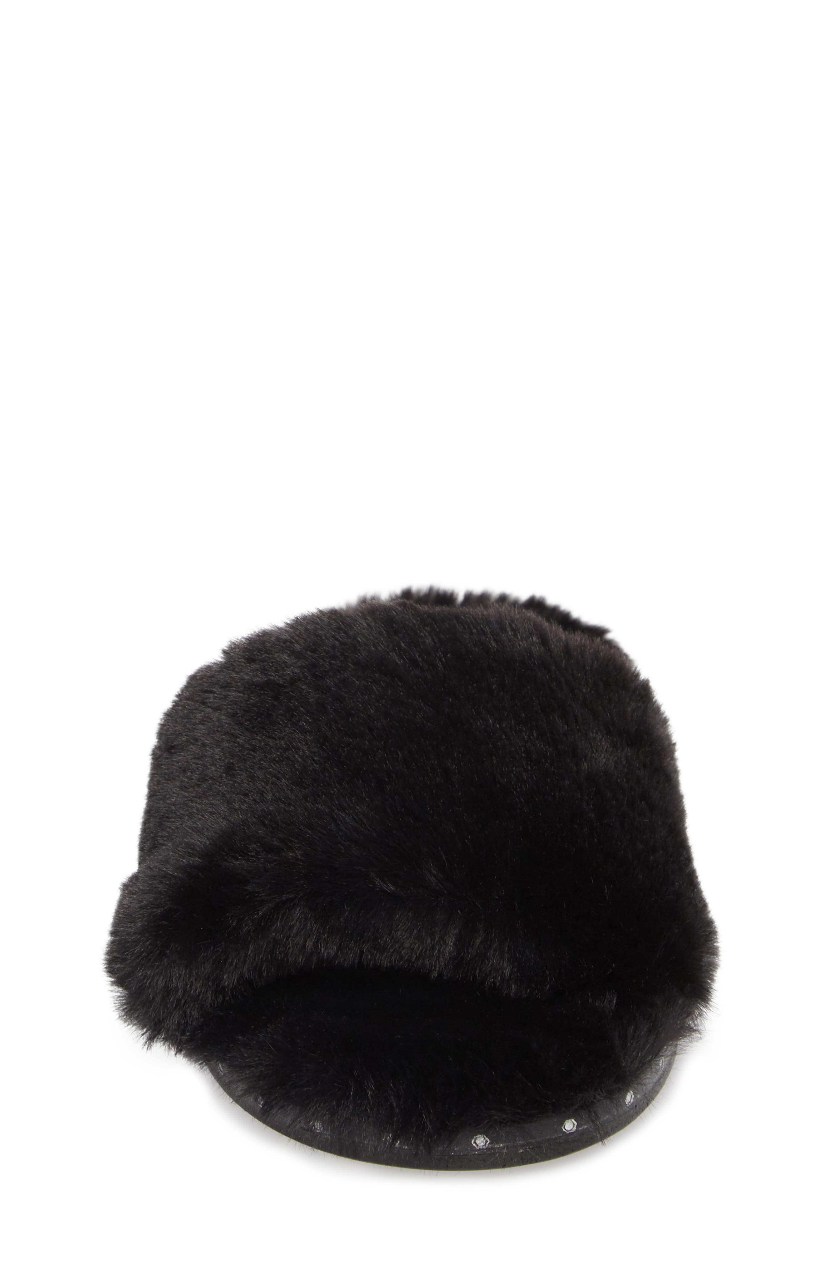 Alternate Image 4  - Kenneth Cole New York Peggy Faux Fur Slide Sandal (Women)
