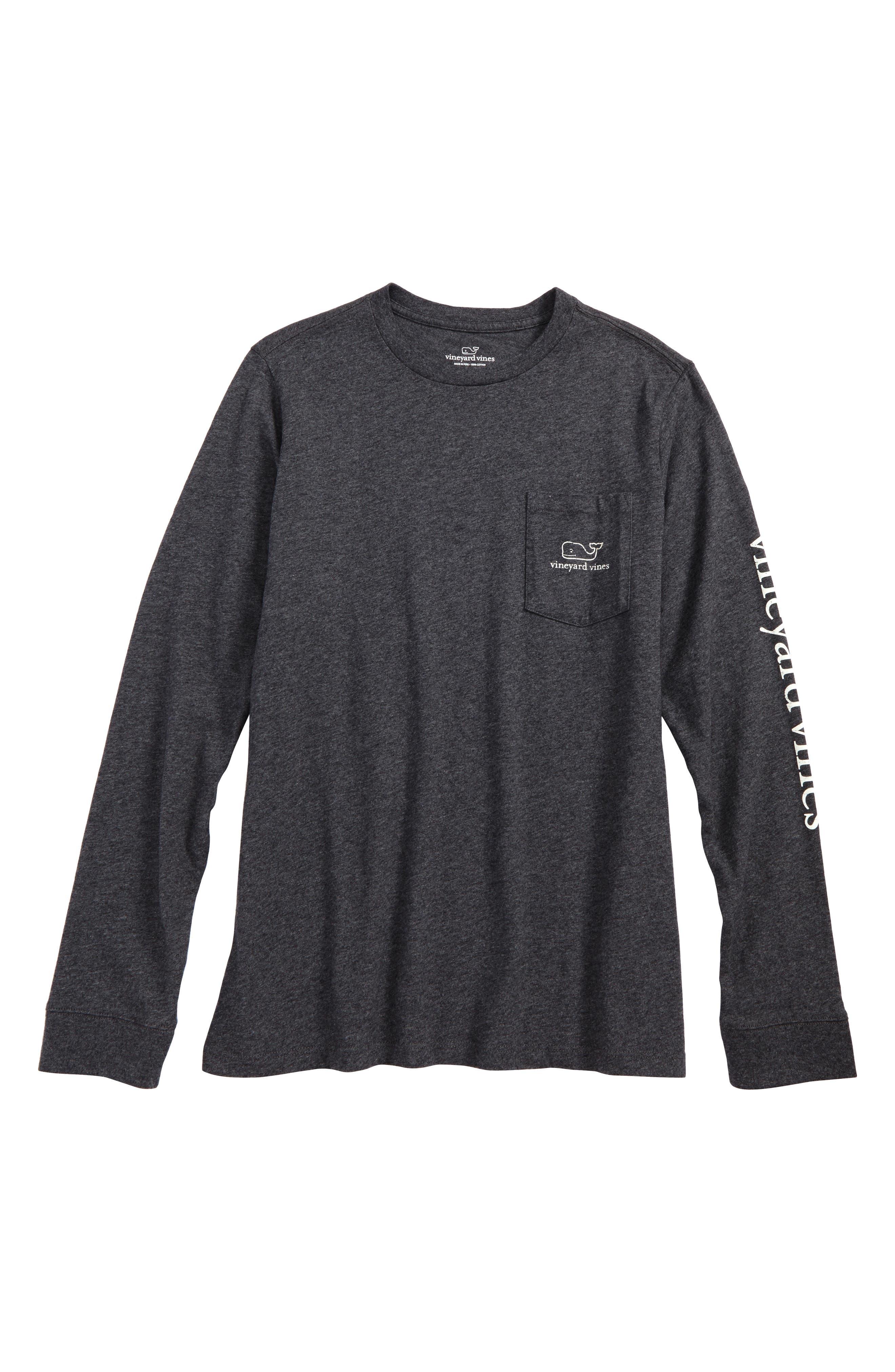 vineyard vines Glow in the Dark Vintage Whale Pocket T-Shirt (Big Boys)