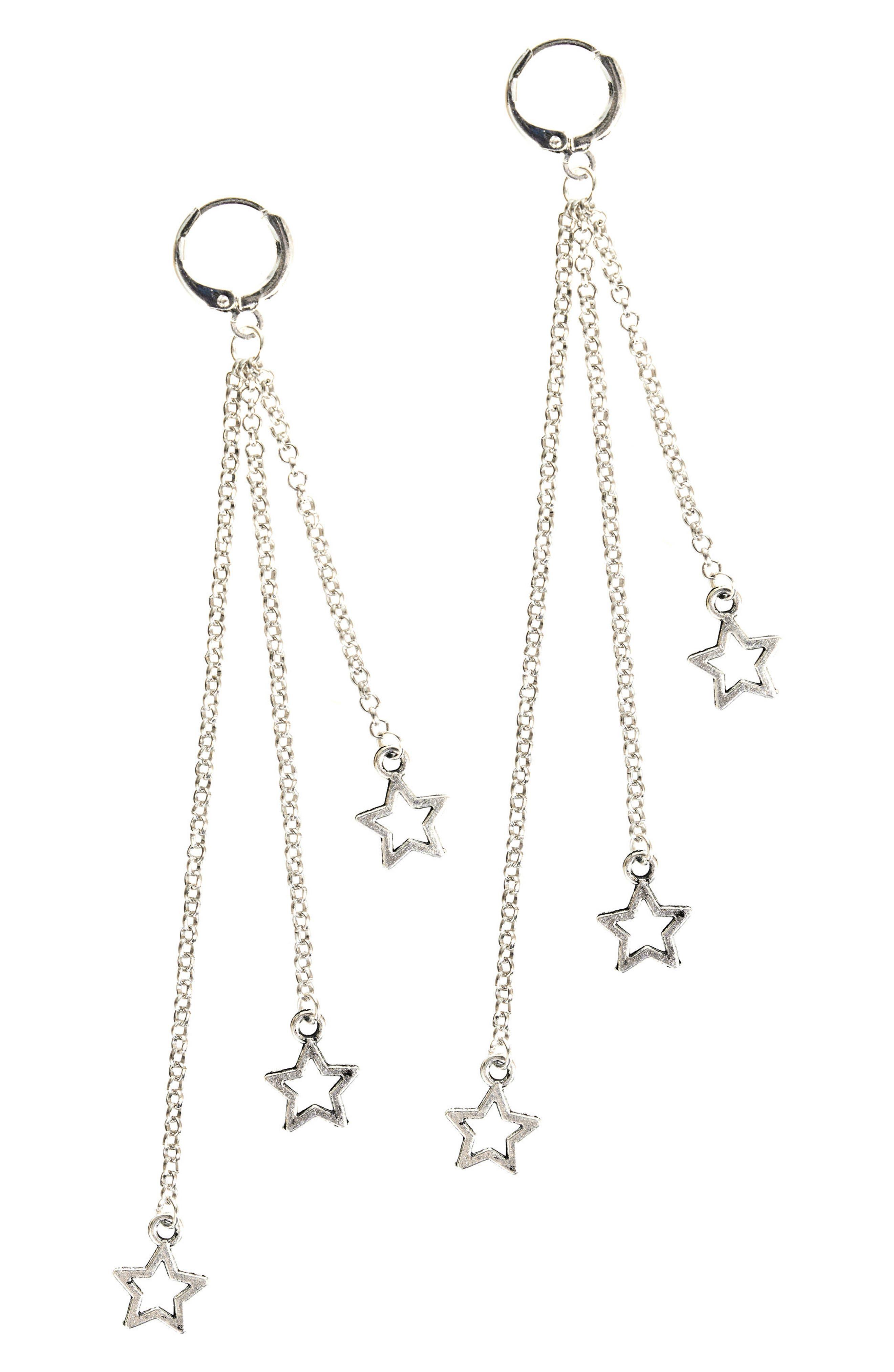 MHART Falling Stars Drop Earrings