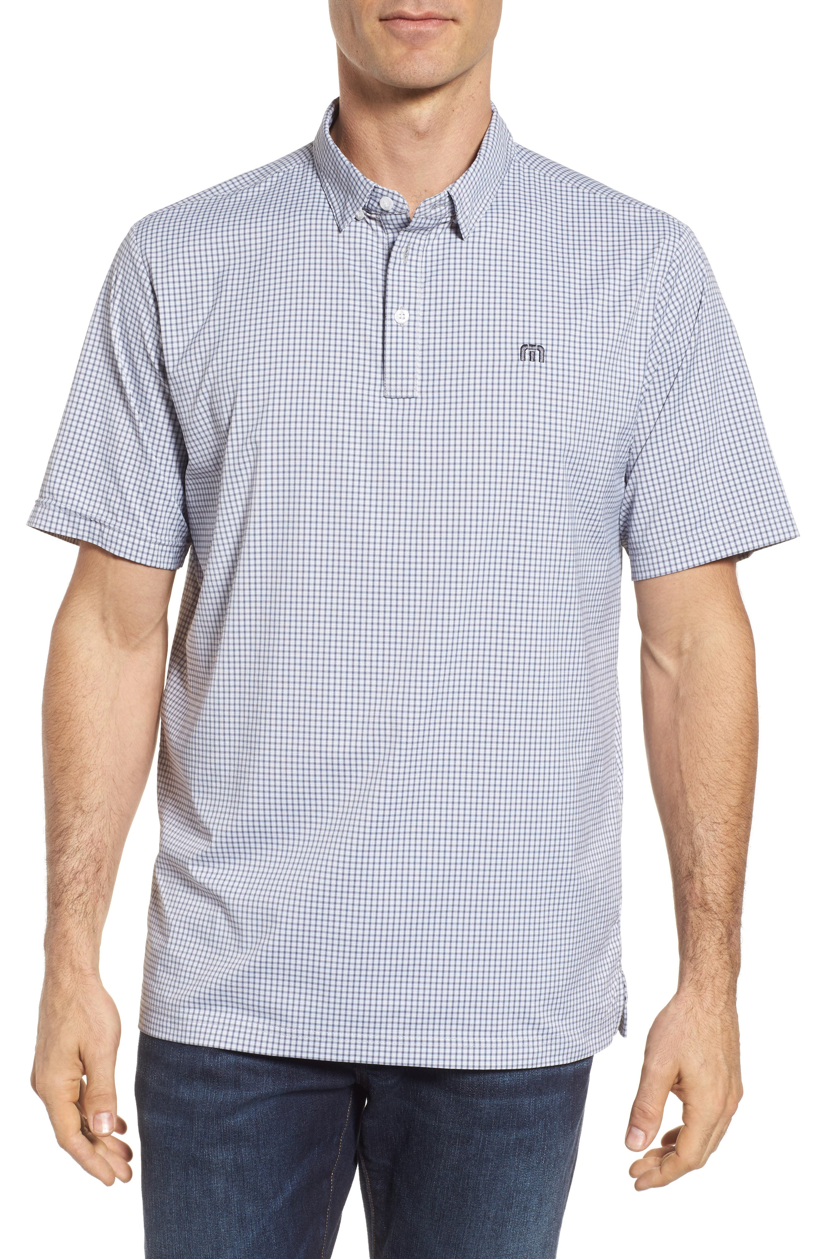 Zim Polo,                             Main thumbnail 1, color,                             White/ Grisaille