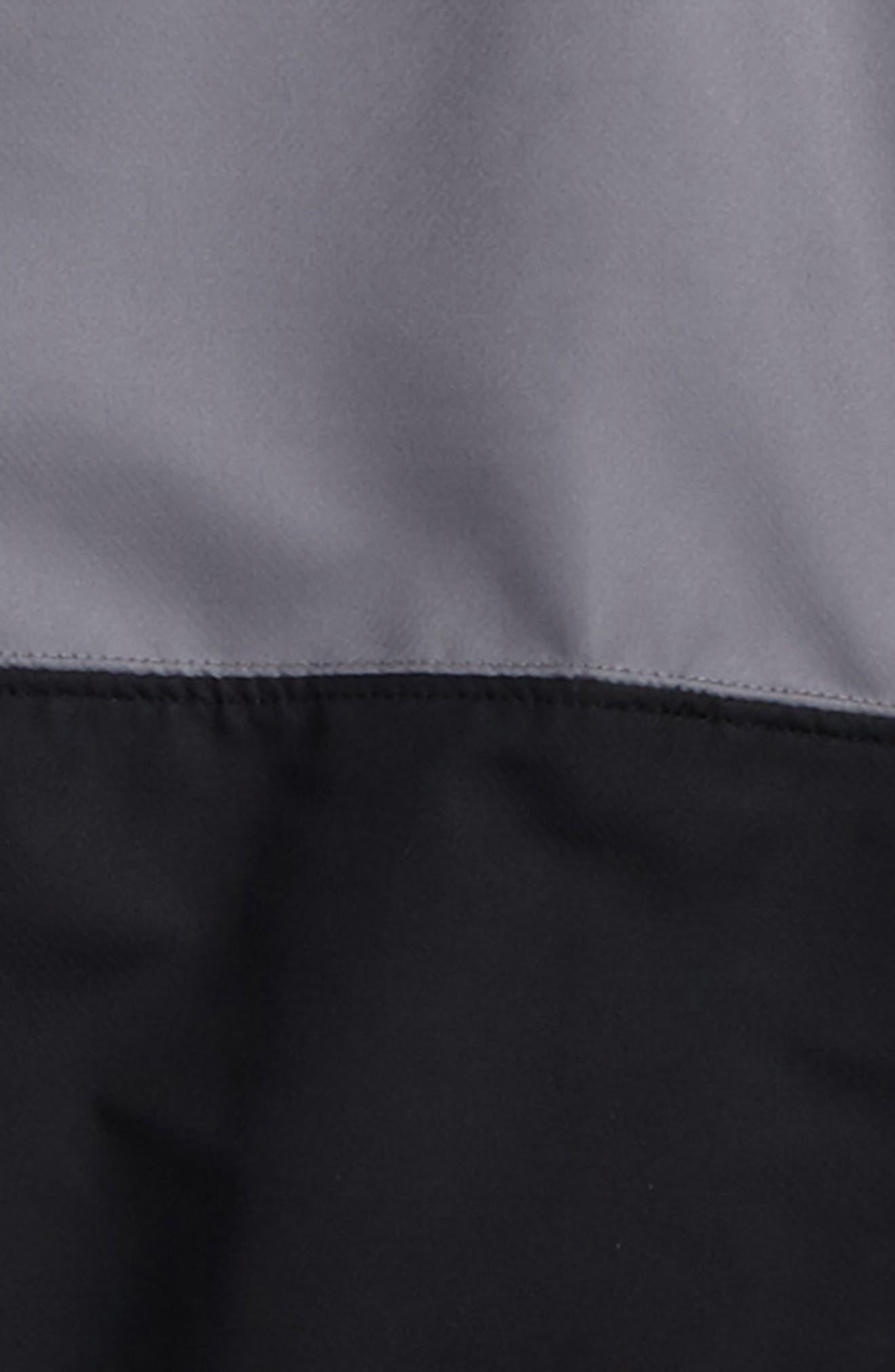 Train to Game Half Zip Pullover,                             Alternate thumbnail 3, color,                             Black/ Graphite