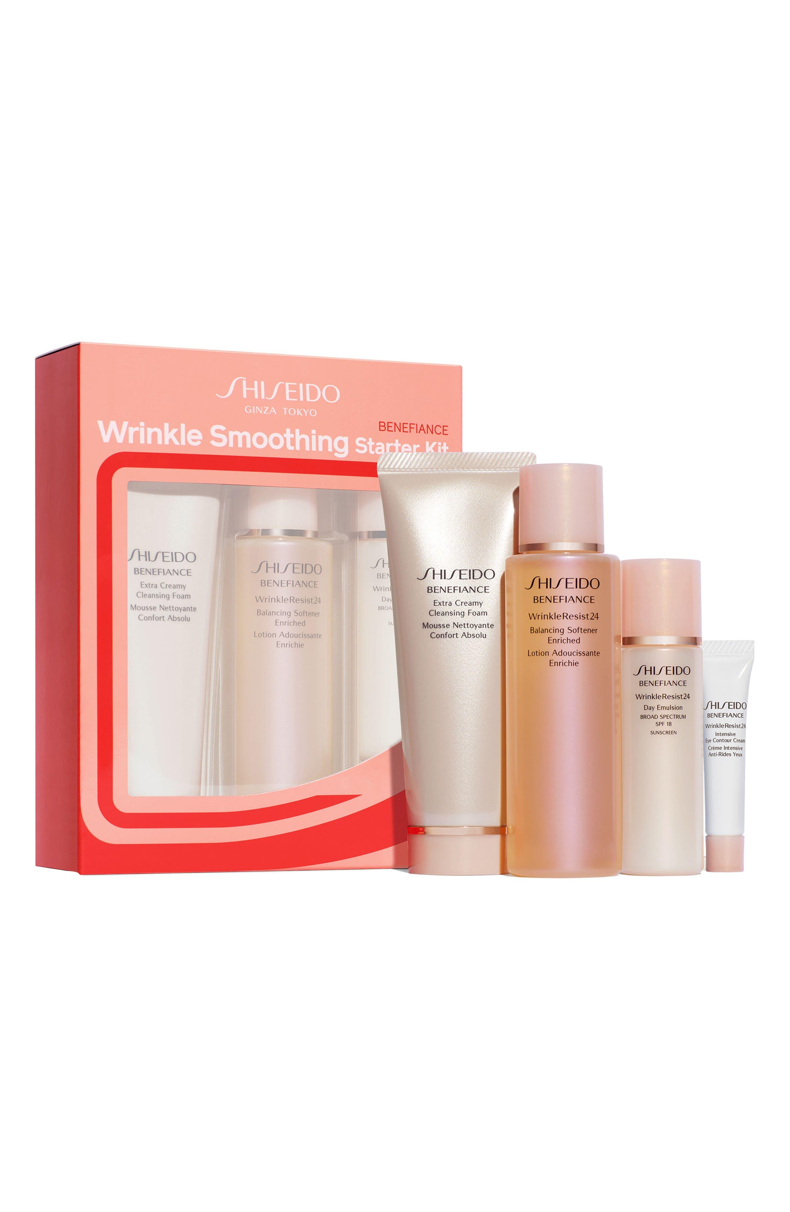 Shiseido Benefiance Wrinkle Smoothing Starter Set ($93 Value)