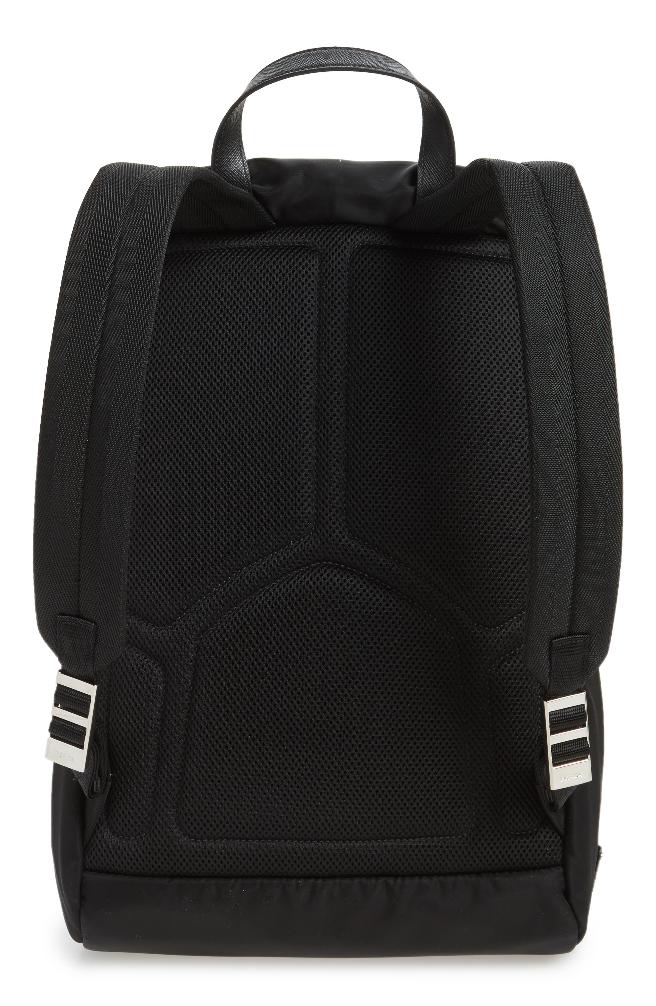 Alternate Image 3  - Prada Montagna Flap Backpack