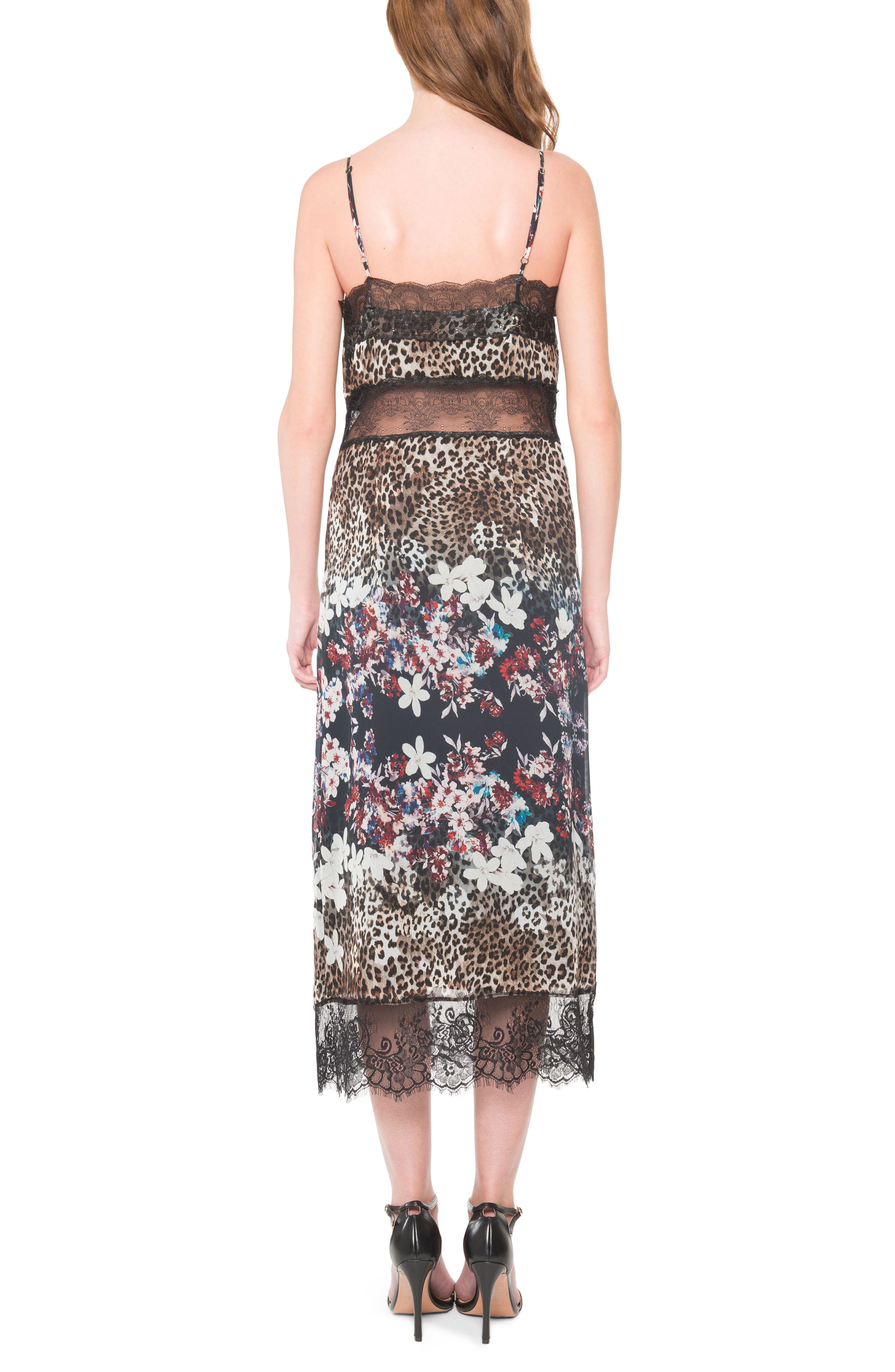 Alternate Image 2  - Willow & Clay Lace Midi Dress
