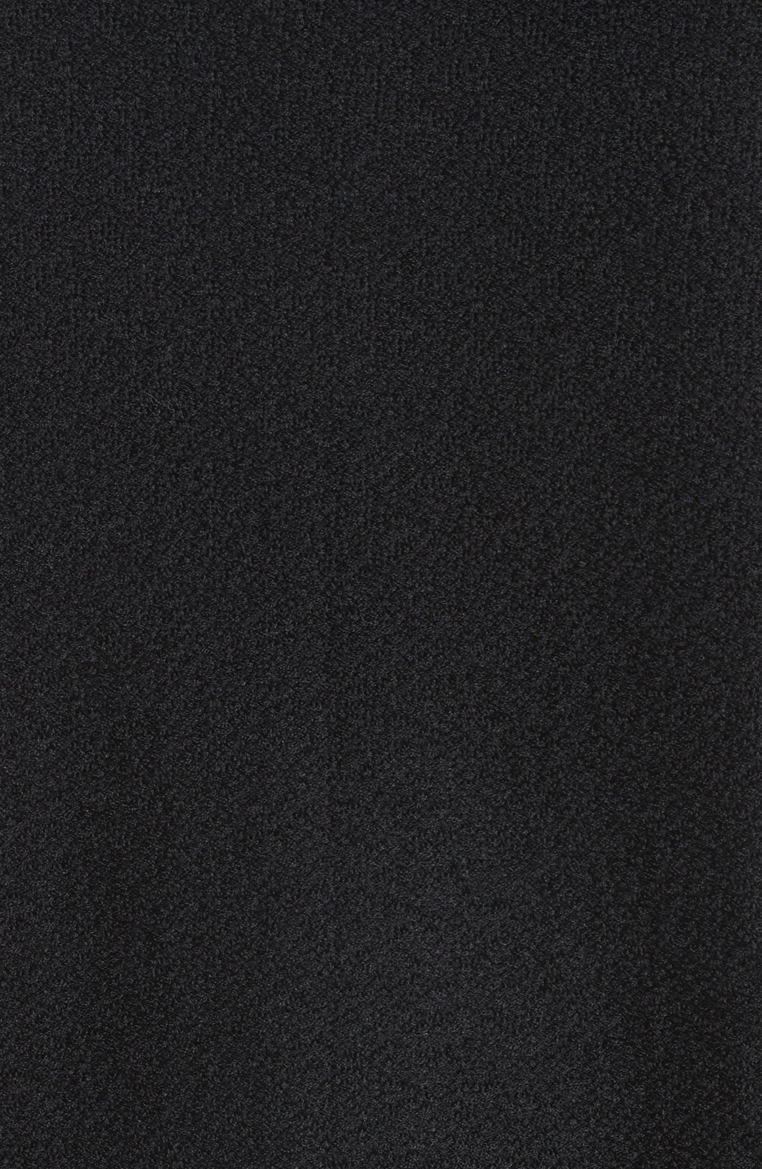 Hannah Knit A-Line Jacket,                             Alternate thumbnail 5, color,                             Caviar