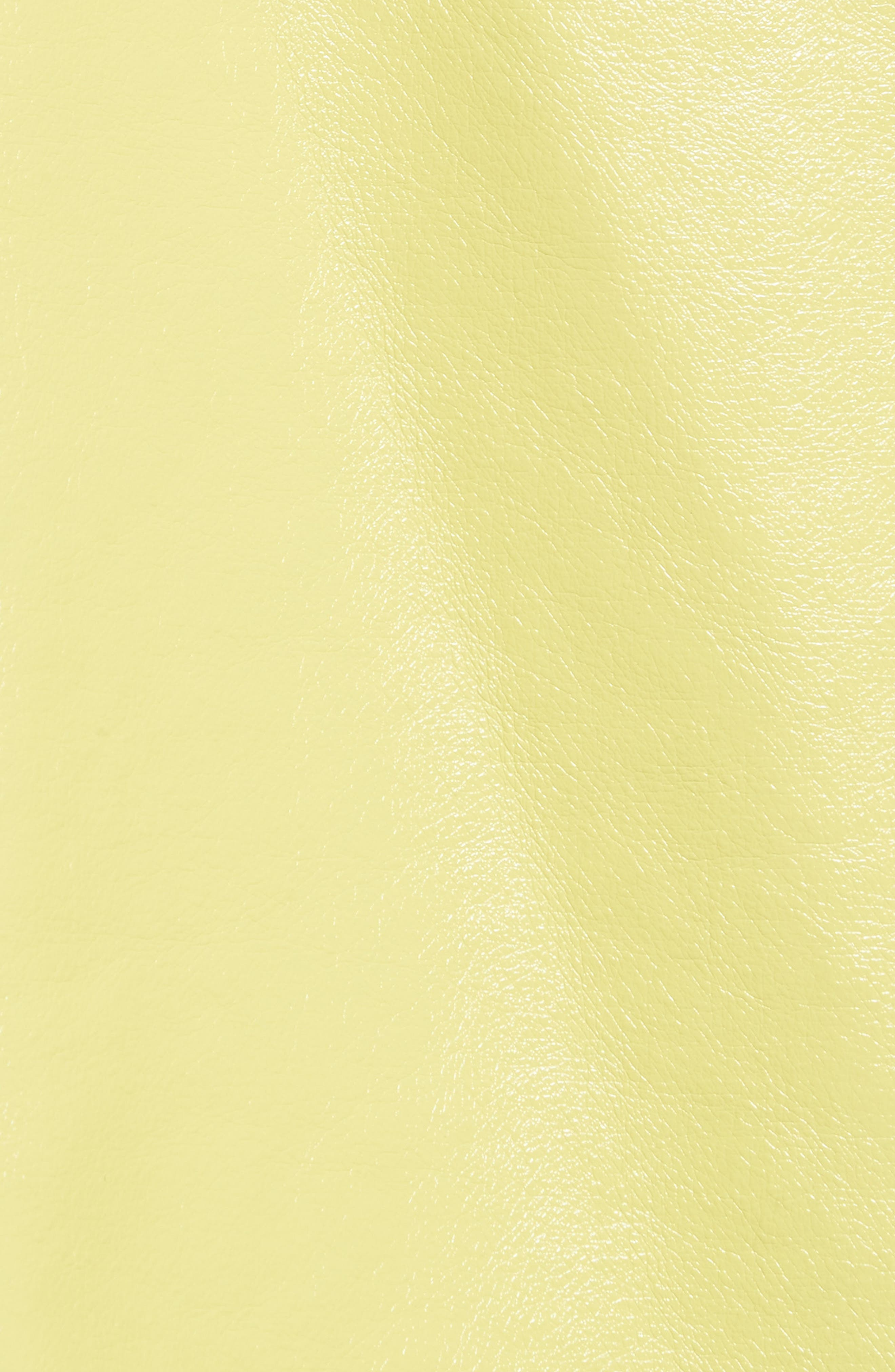 Faux Shearling Shrunken Toggle Jacket,                             Alternate thumbnail 5, color,                             Acid Green