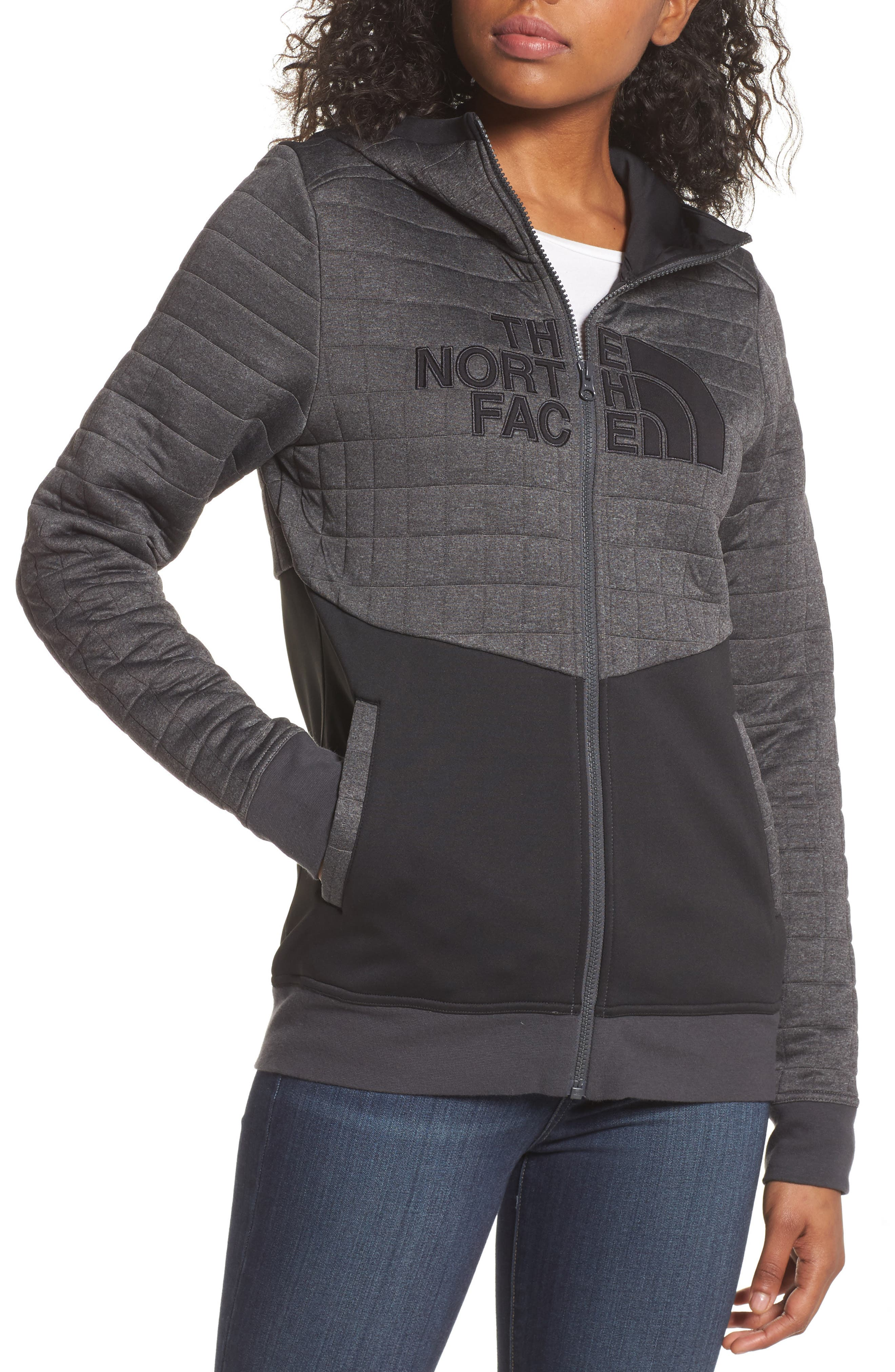 The North Face Half Dome Quilted Zip Hoodie