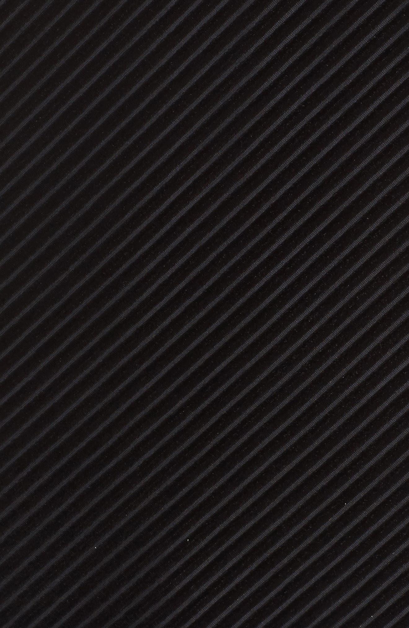 NIC+ ZOE Stunning Midi Slipdress,                             Alternate thumbnail 5, color,                             Black Onyx