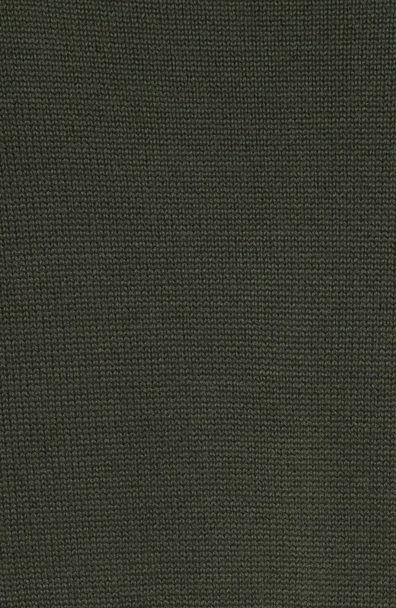 Alternate Image 5  - Veronica Beard Concord V Neck Mixed Media Sweater