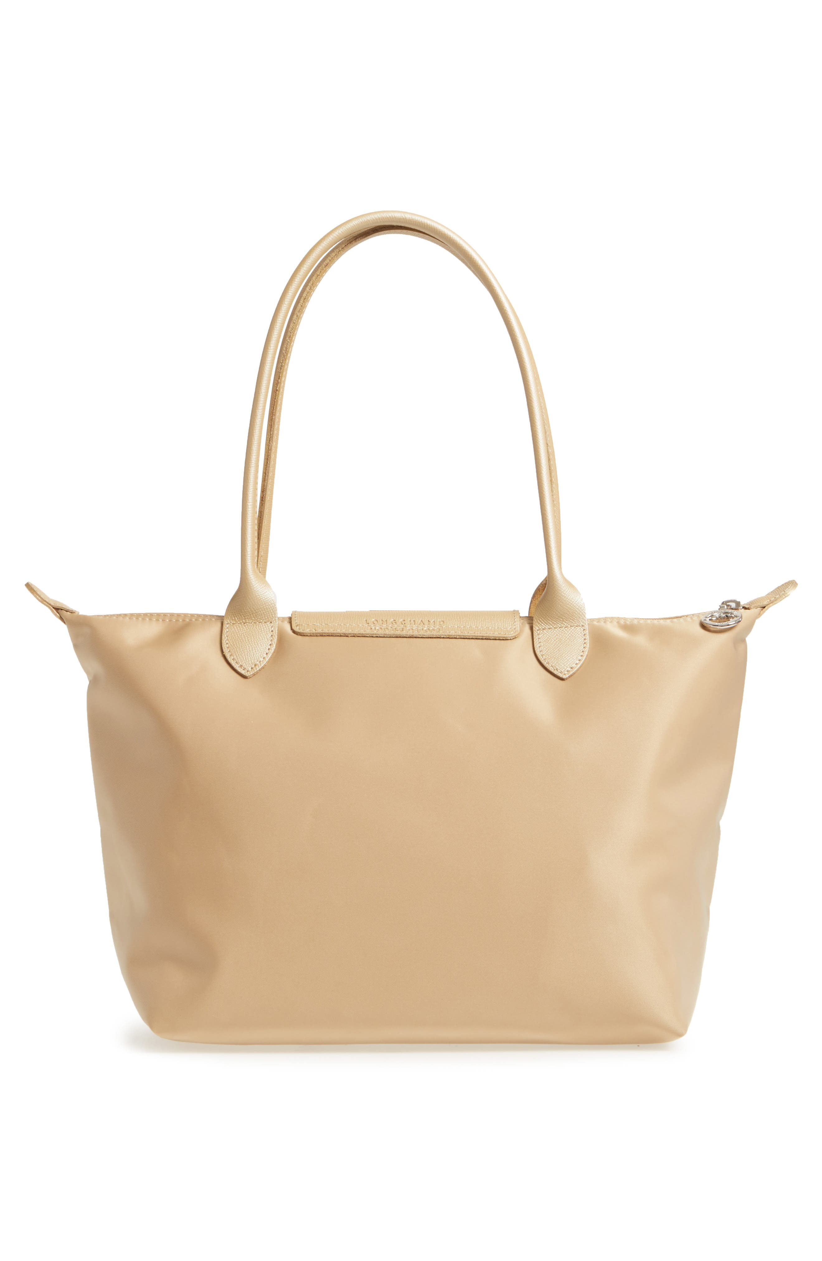 Small Le Pliage Neo Tote,                             Alternate thumbnail 3, color,                             Gold