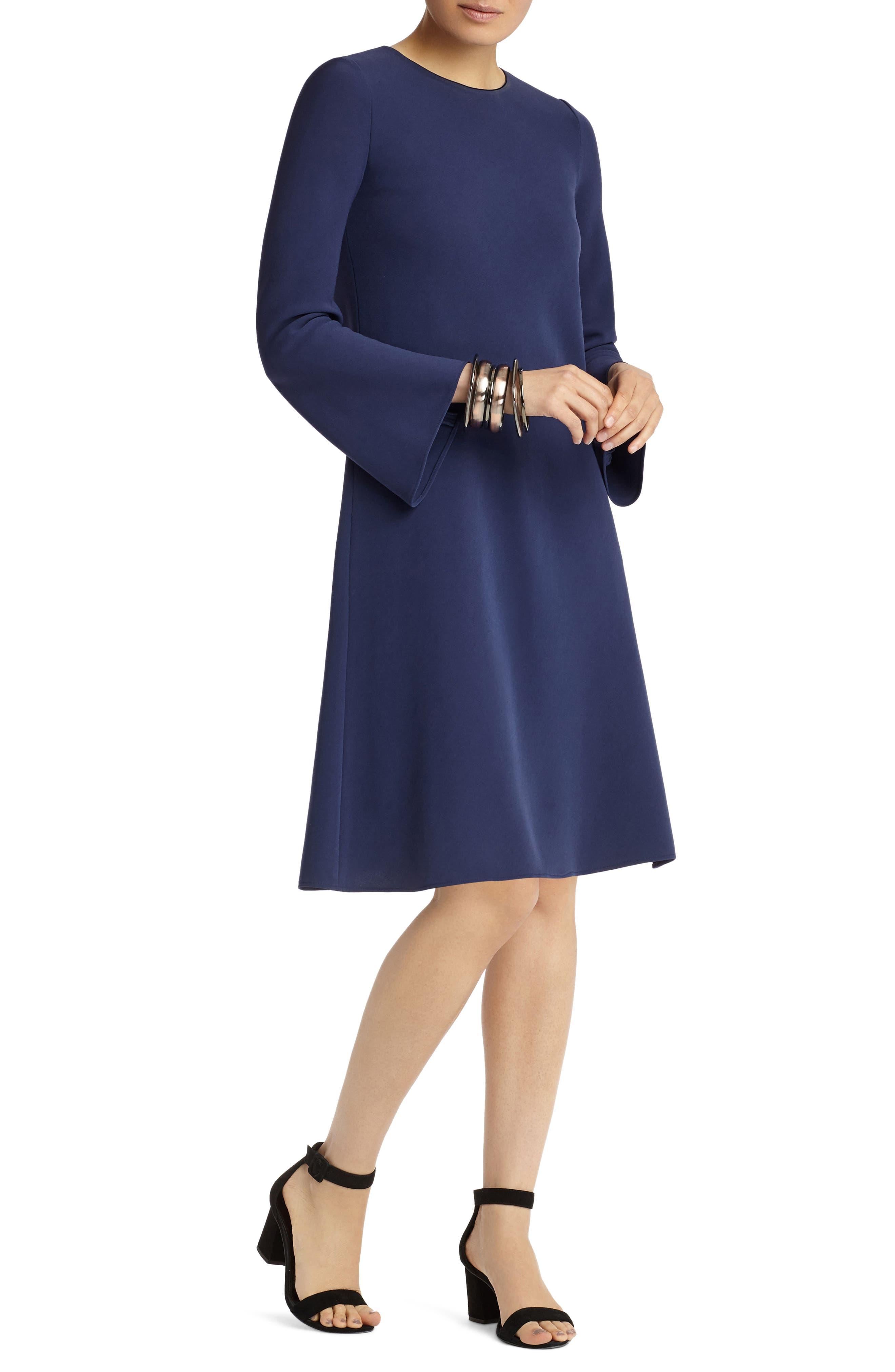 Alternate Image 5  - Lafayette 148 New York Kalitta Finesse Crepe Dress
