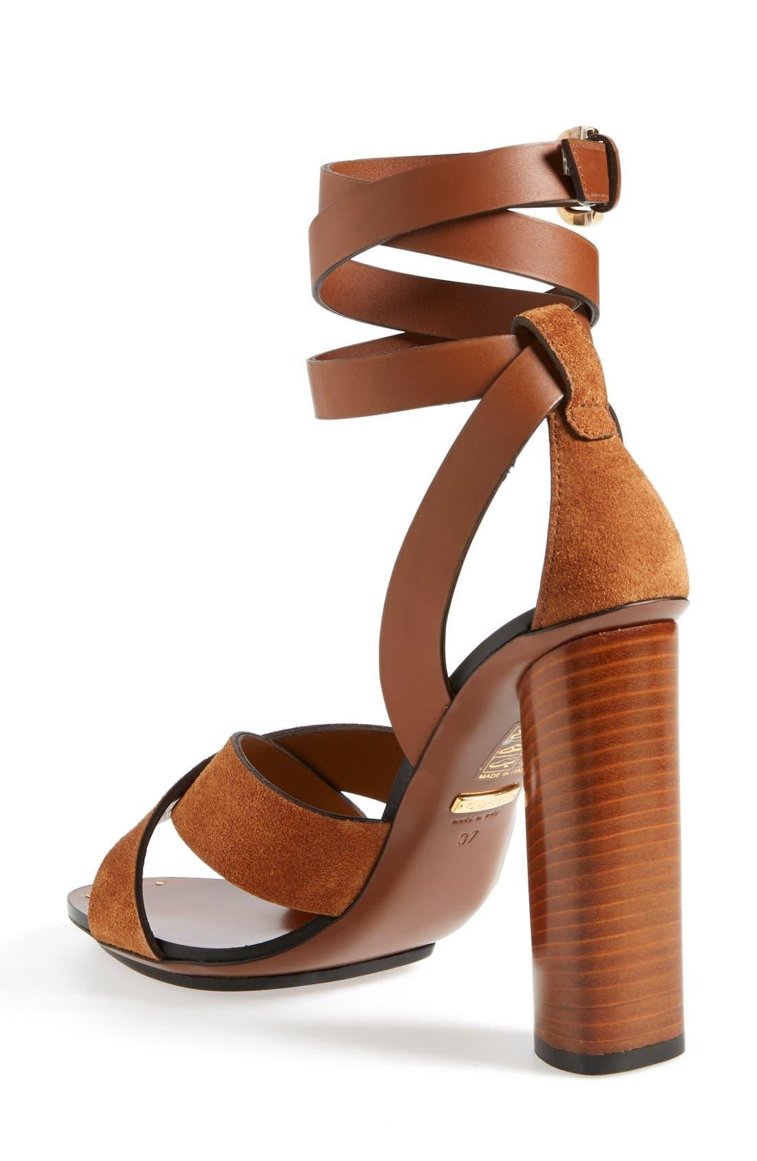 Alternate Image 2  - Gucci 'Candy' Ankle Strap Sandal (Women)