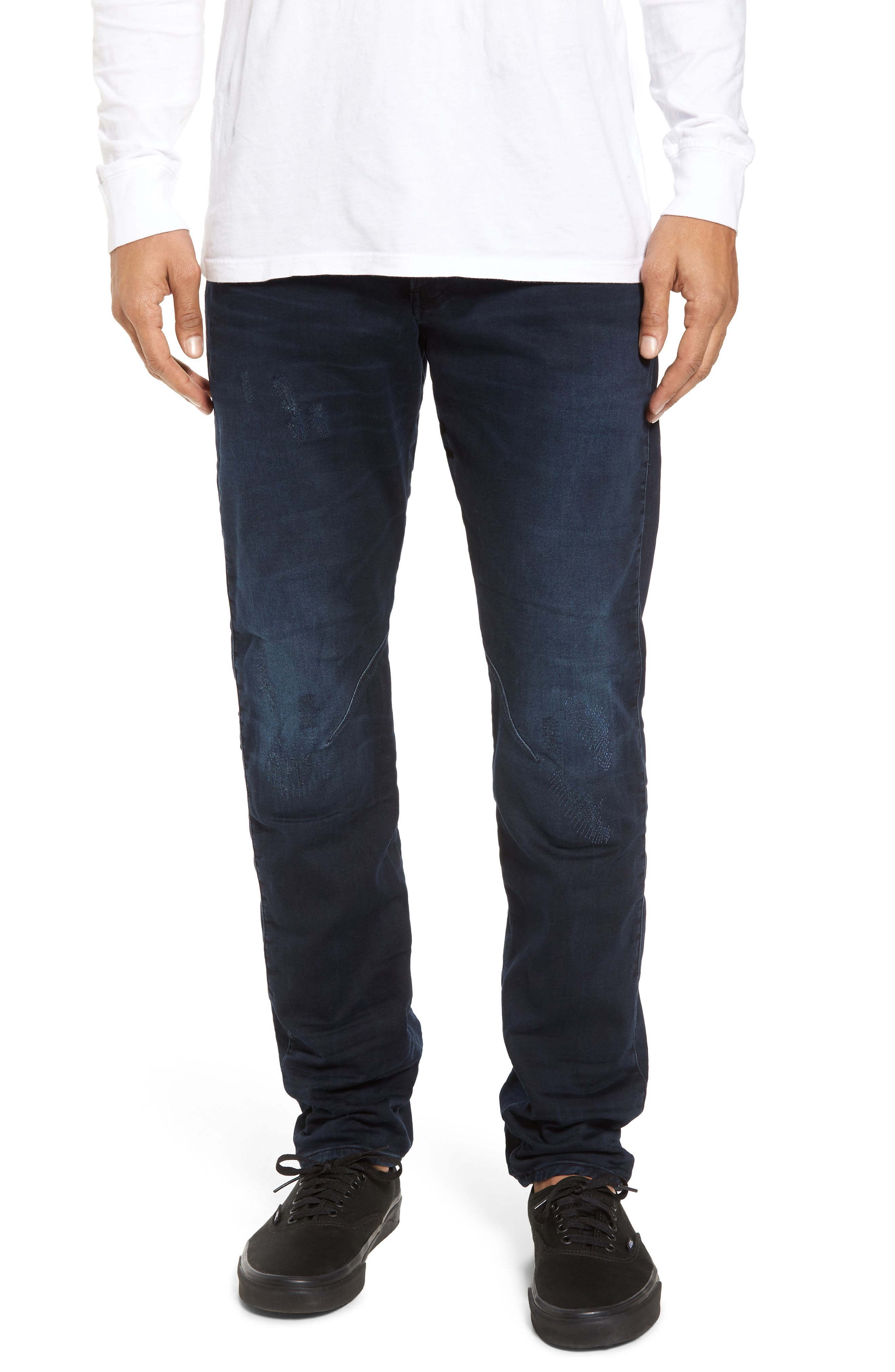 Main Image - G-Star Raw Arc 3D Tapered Jeans (Dark Aged Restored)