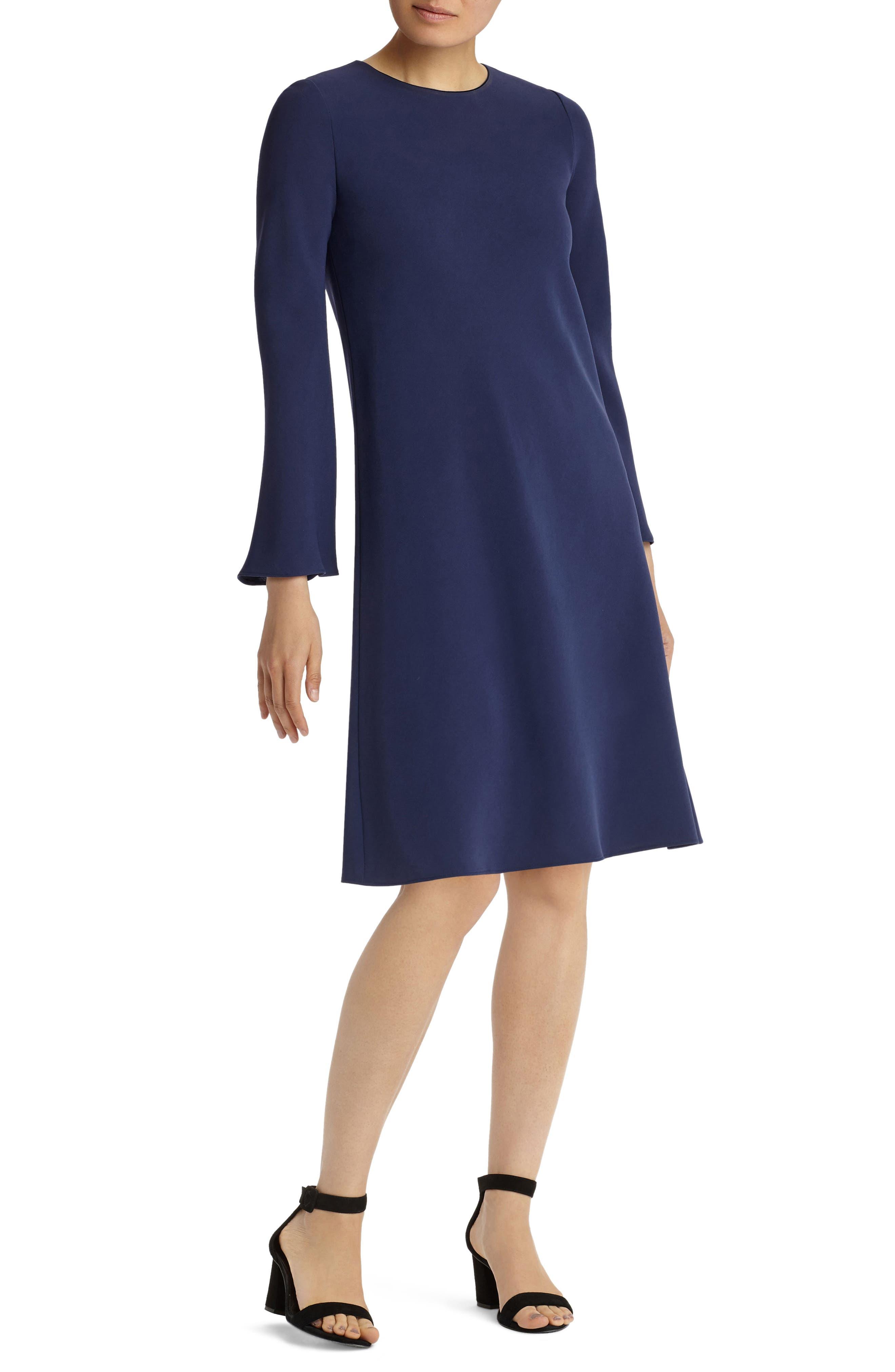Main Image - Lafayette 148 New York Kalitta Finesse Crepe Dress