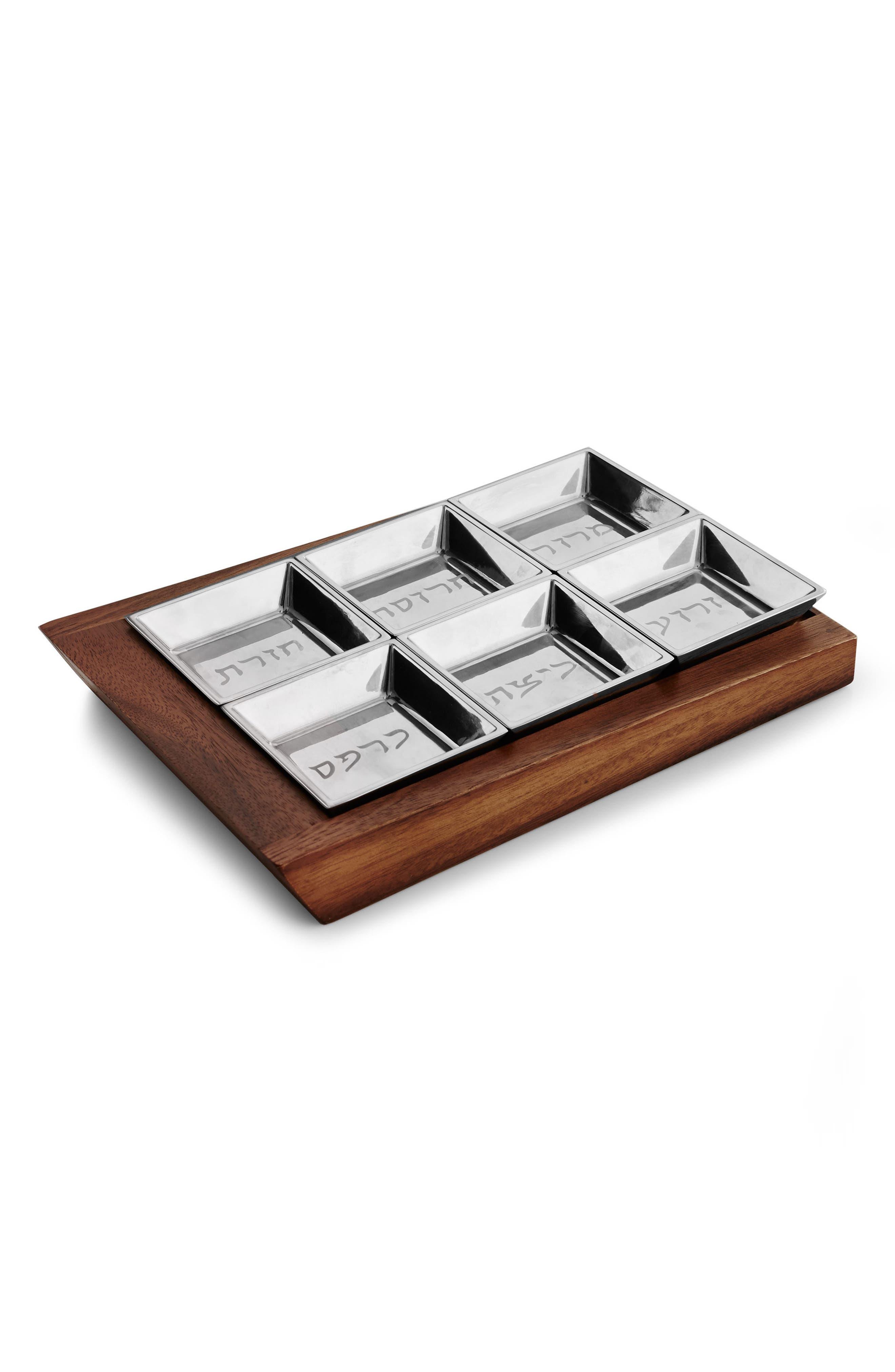 Alternate Image 1 Selected - Nambé Geo Seder Plate