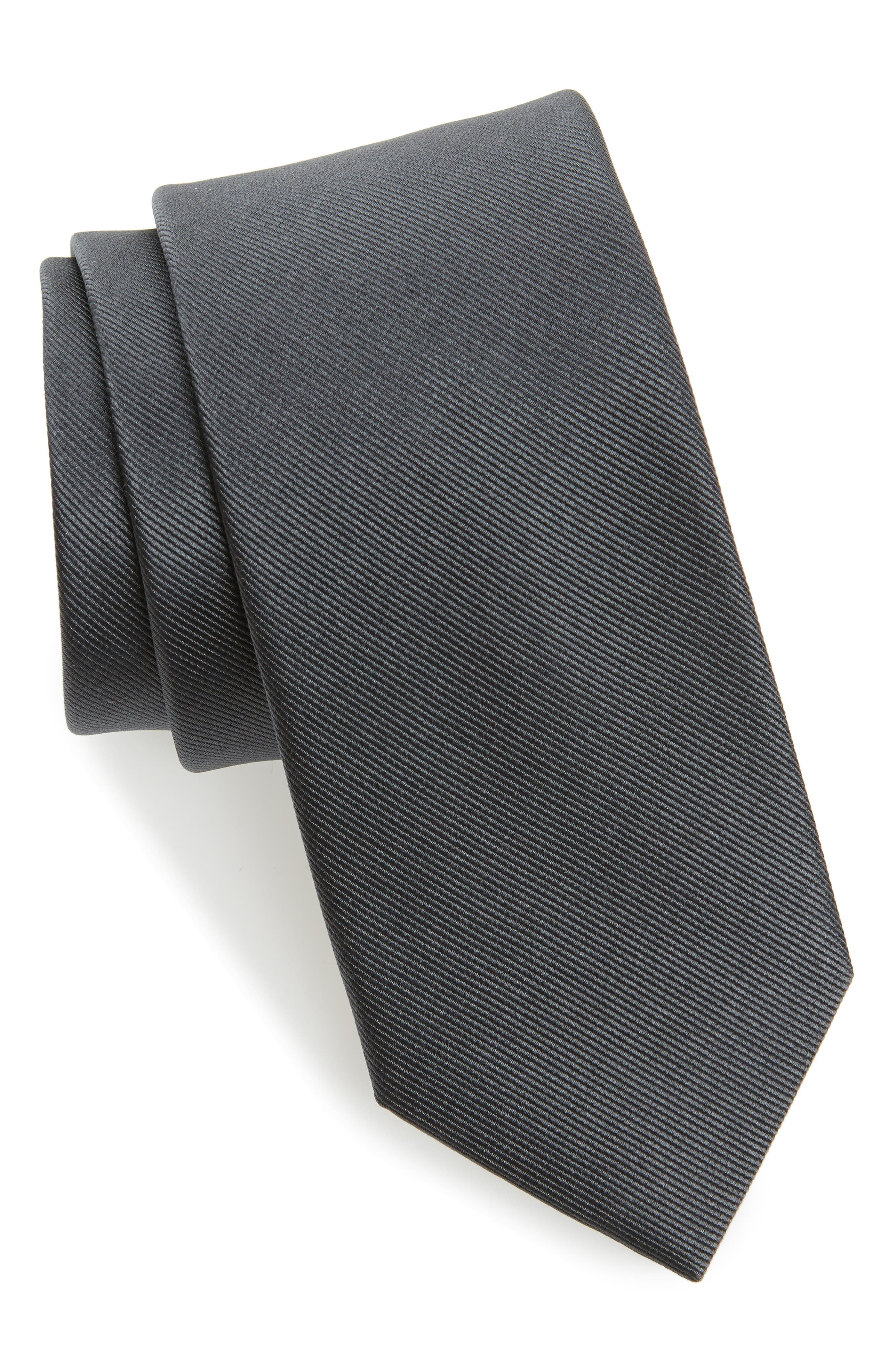 Alternate Image 1 Selected - The Tie Bar Grosgrain Silk Tie