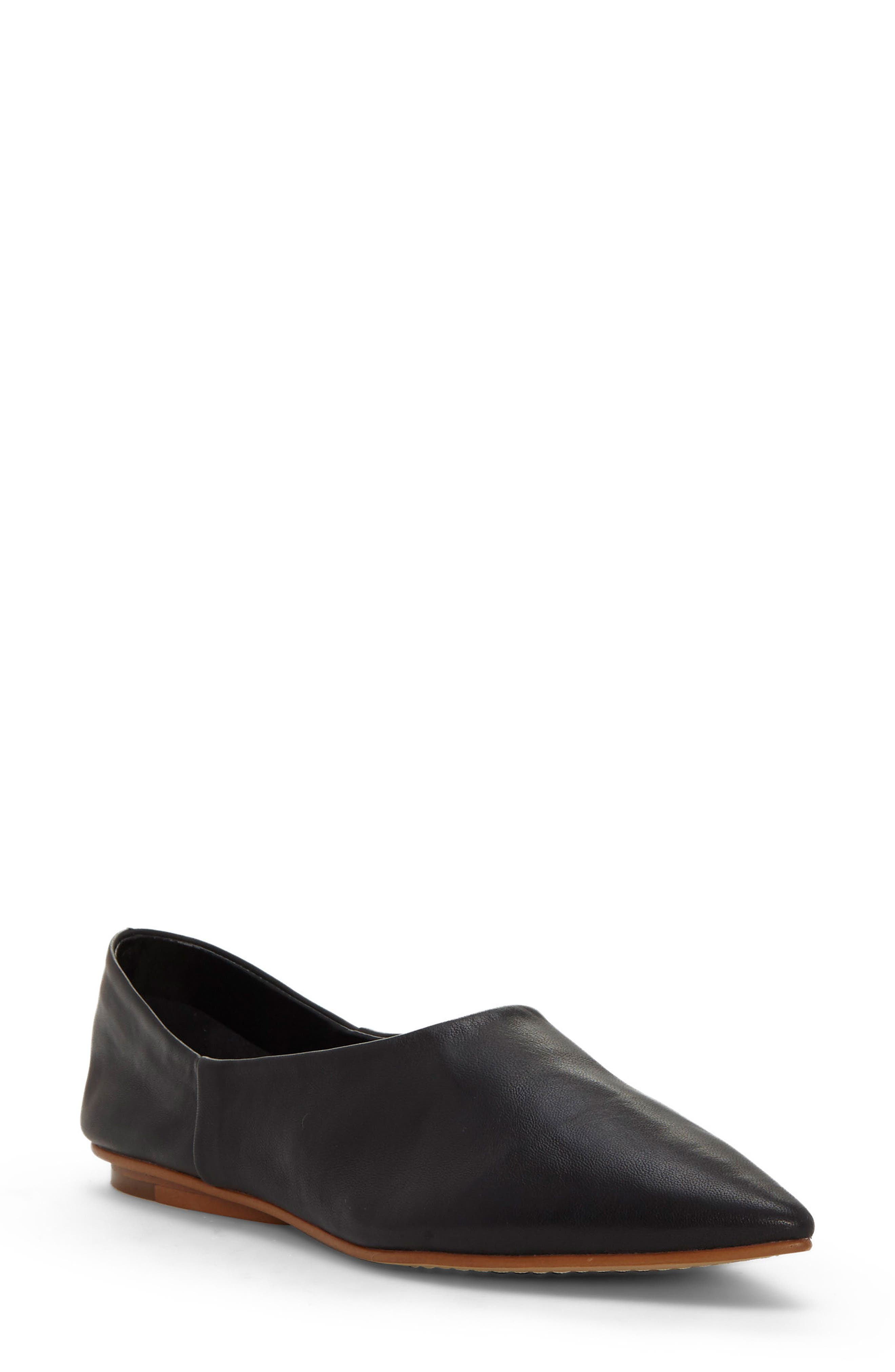 Alternate Image 1 Selected - Vince Camuto Stanta Pointy Toe Flat