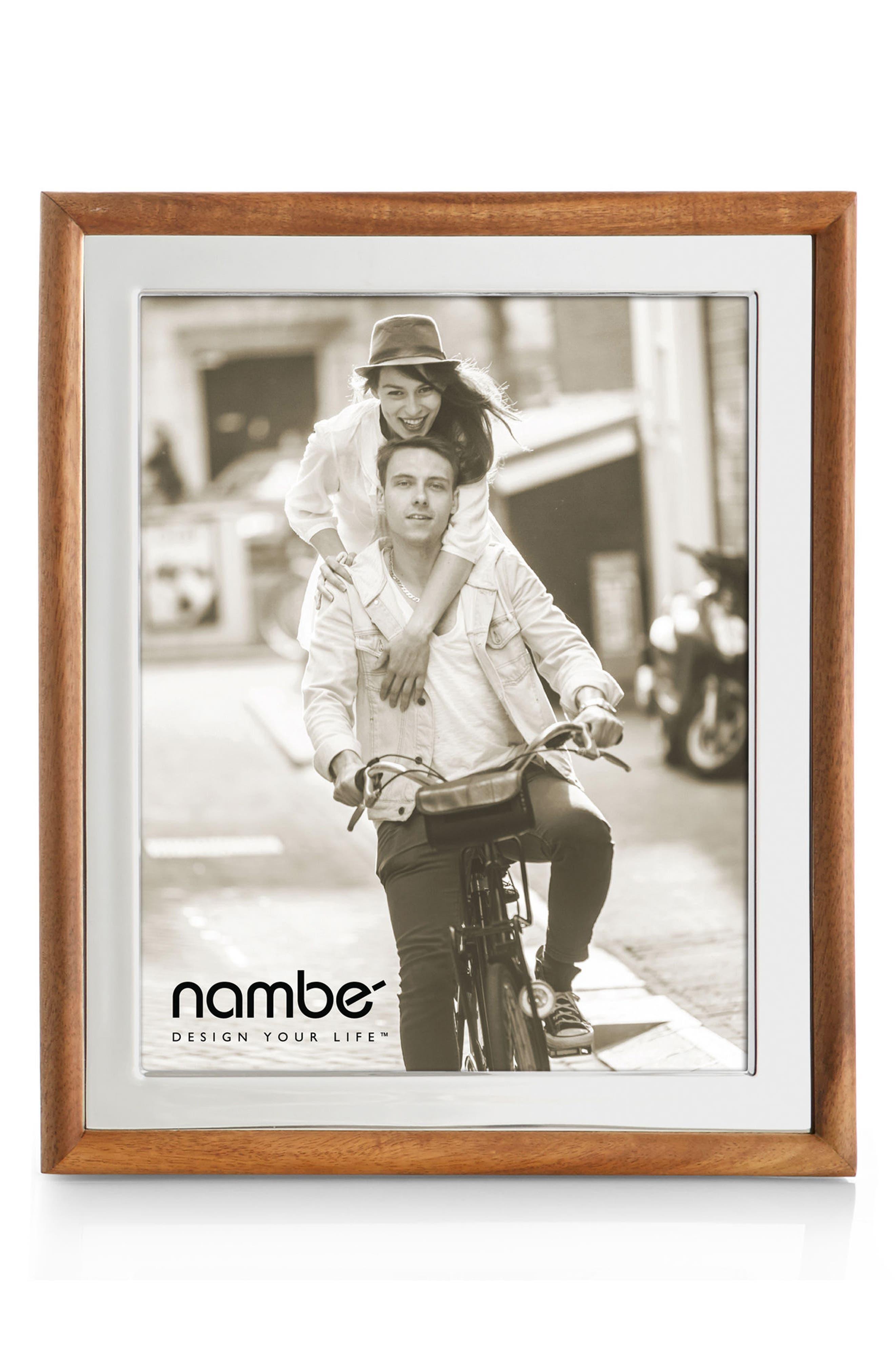Alternate Image 1 Selected - Nambé Hayden Picture Frame