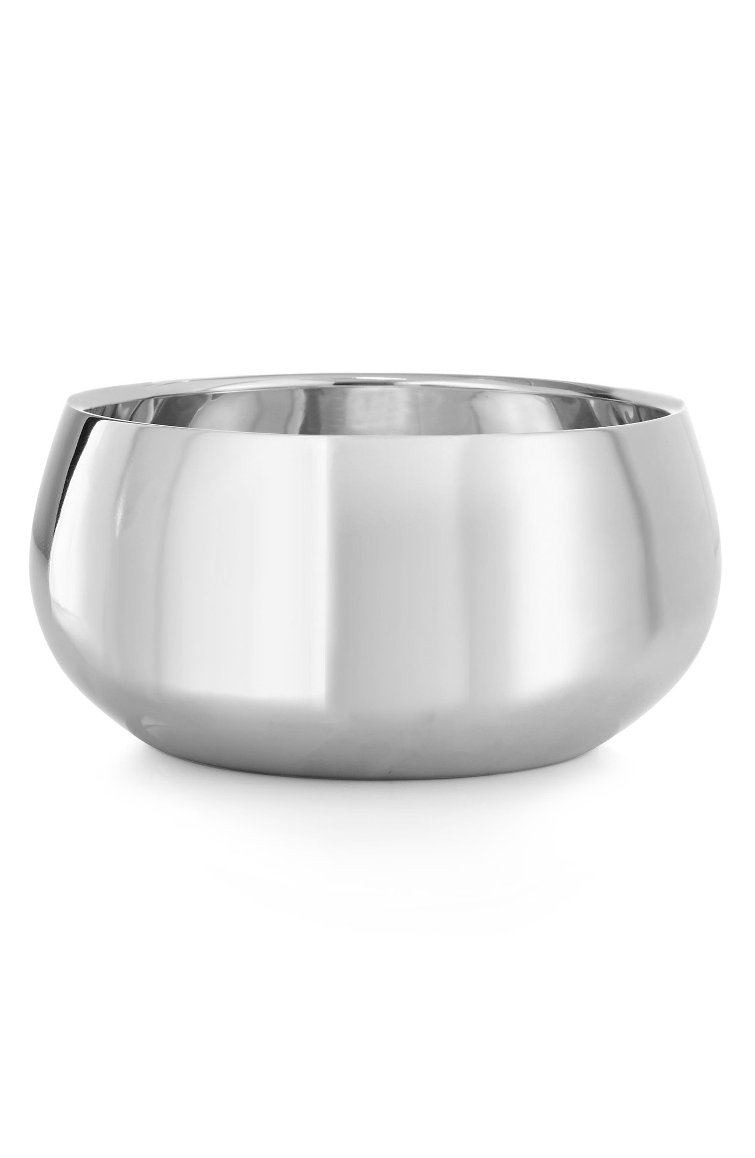 Round Bowl,                         Main,                         color, Silver