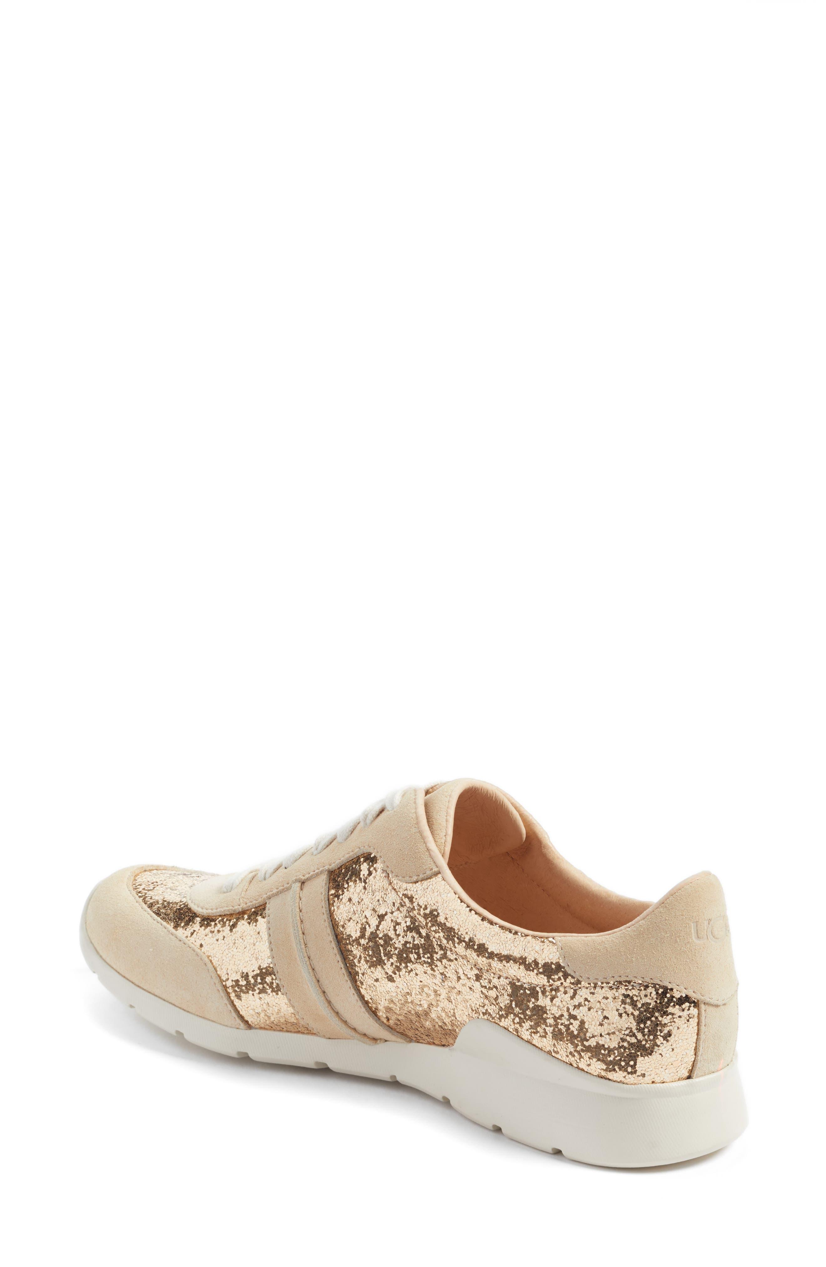 Alternate Image 2  - UGG® Jaida Glitter Sneaker (Women)