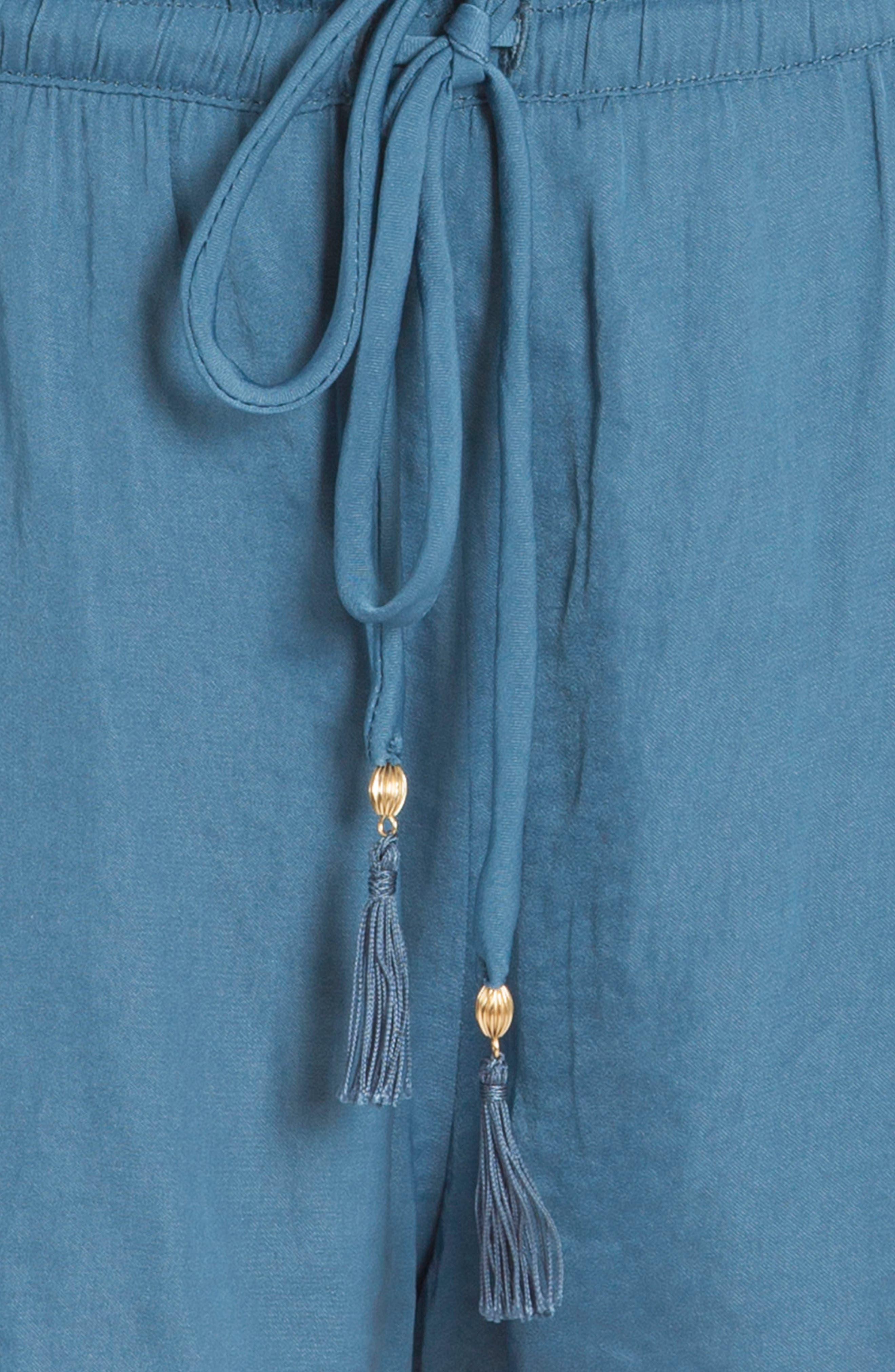 Alternate Image 5  - In Bloom by Jonquil Byzantine Washed Satin Short Pajamas