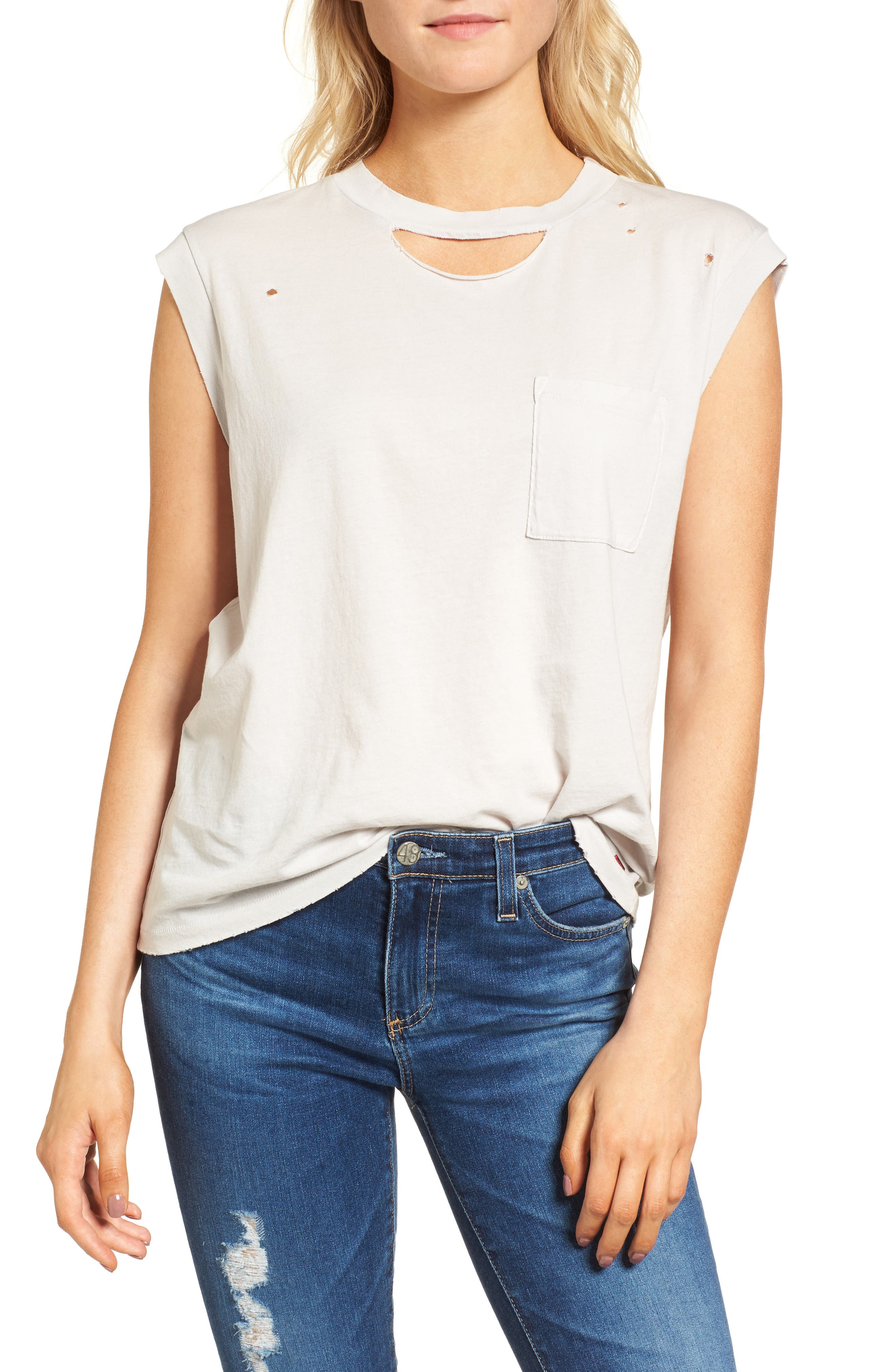 Serge Deconstructed Pocket Tank,                         Main,                         color, Silver Birch